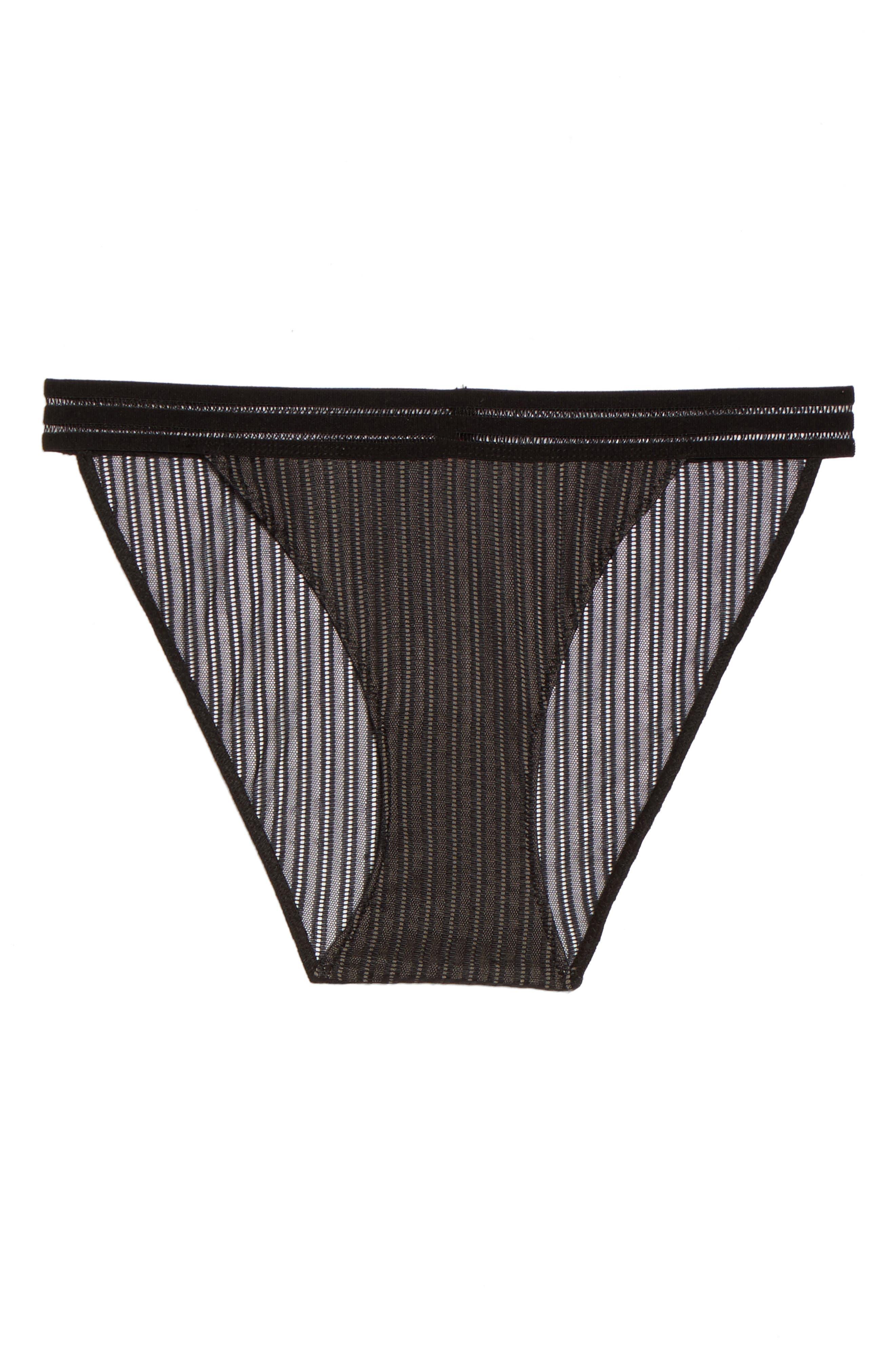 Arabella Bikini,                             Alternate thumbnail 4, color,                             Black