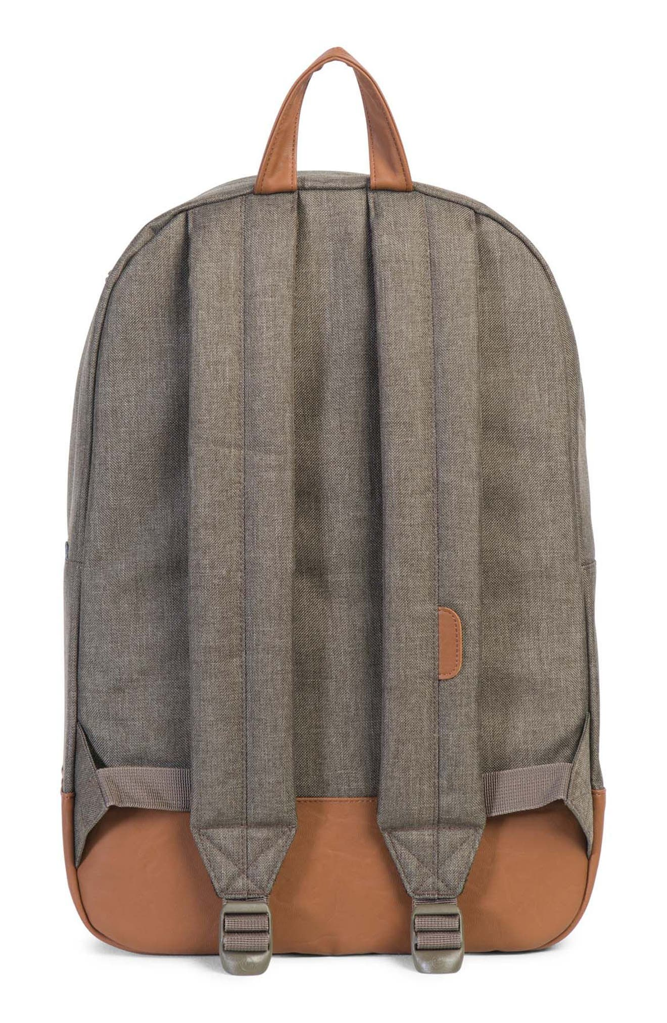 Heritage Backpack,                             Alternate thumbnail 2, color,                             Canteen Crosshatch/ Tan