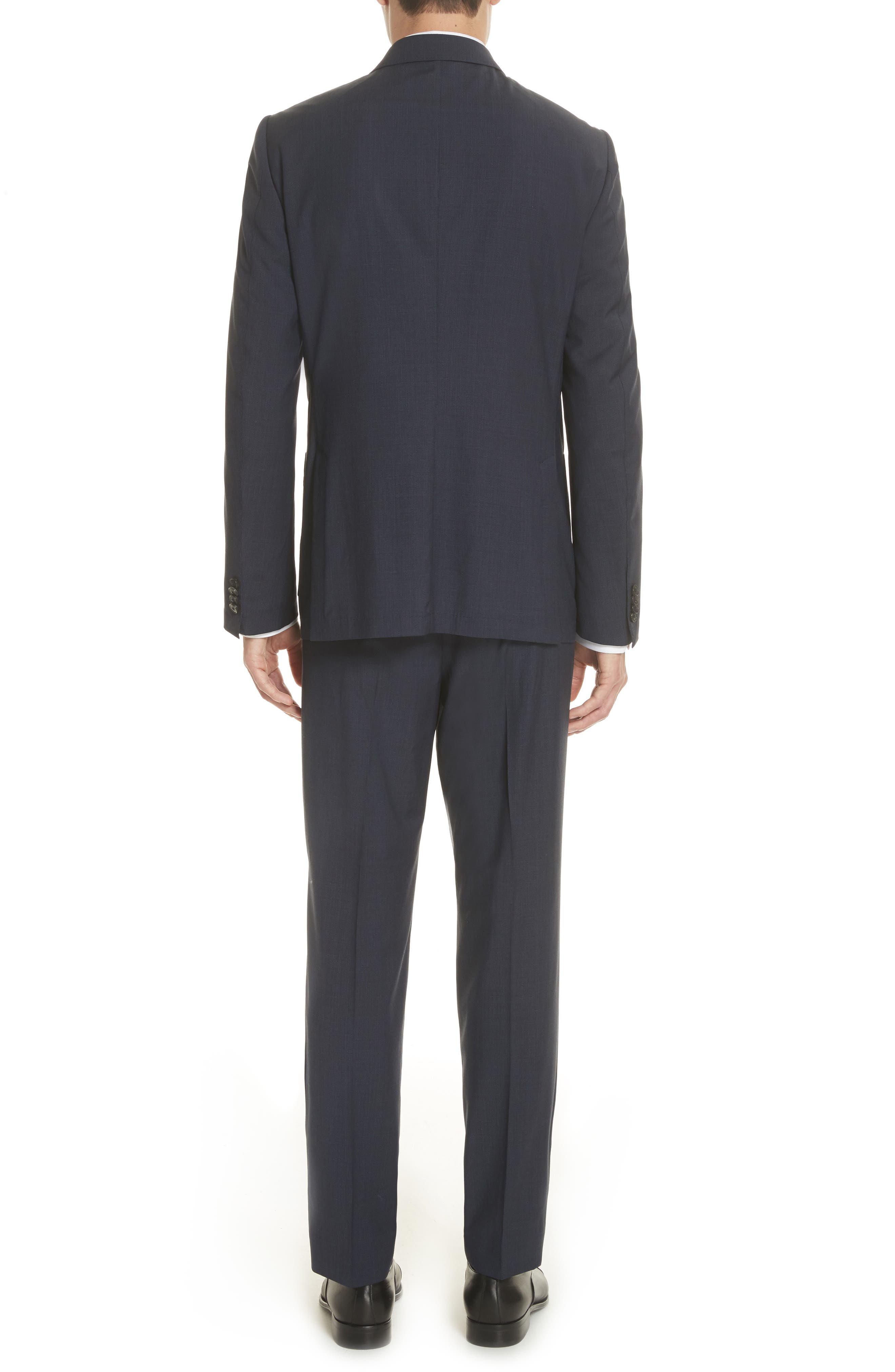 Alternate Image 2  - Z Zegna TECHMERINO™ Wash & Go Trim Fit Solid Wool Suit