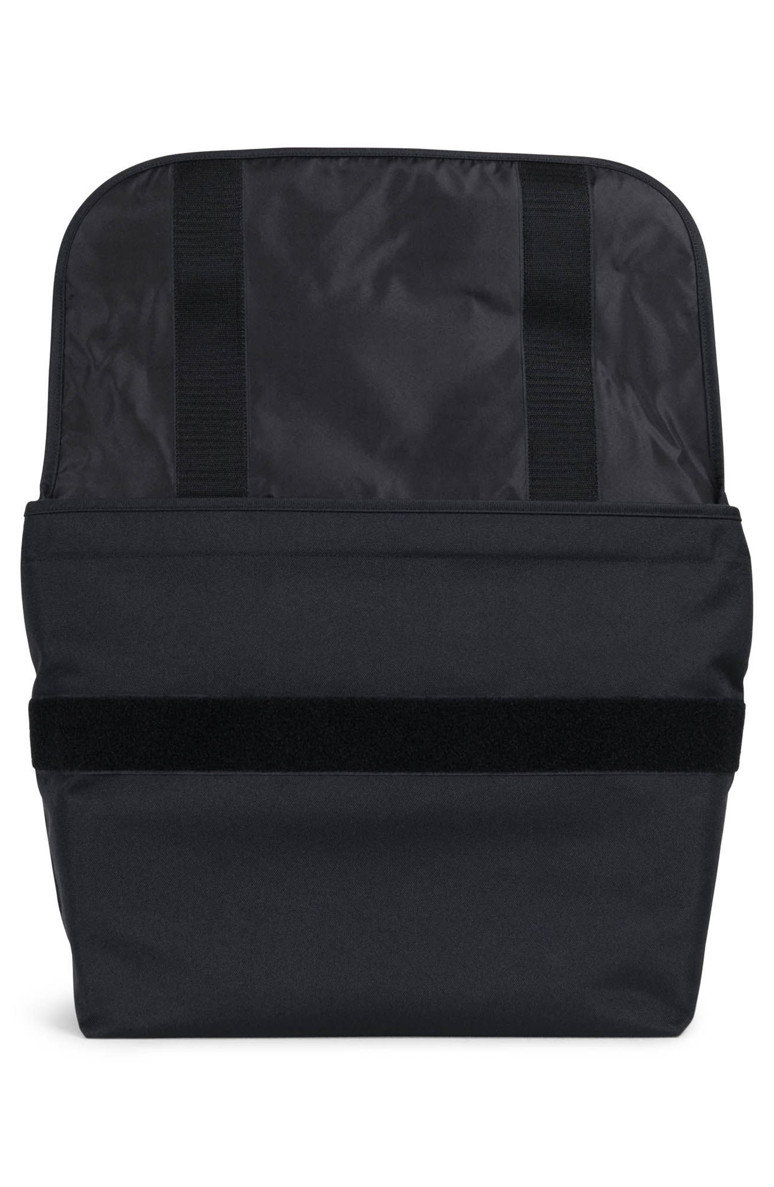 Odell Messenger Bag,                             Alternate thumbnail 3, color,                             Black