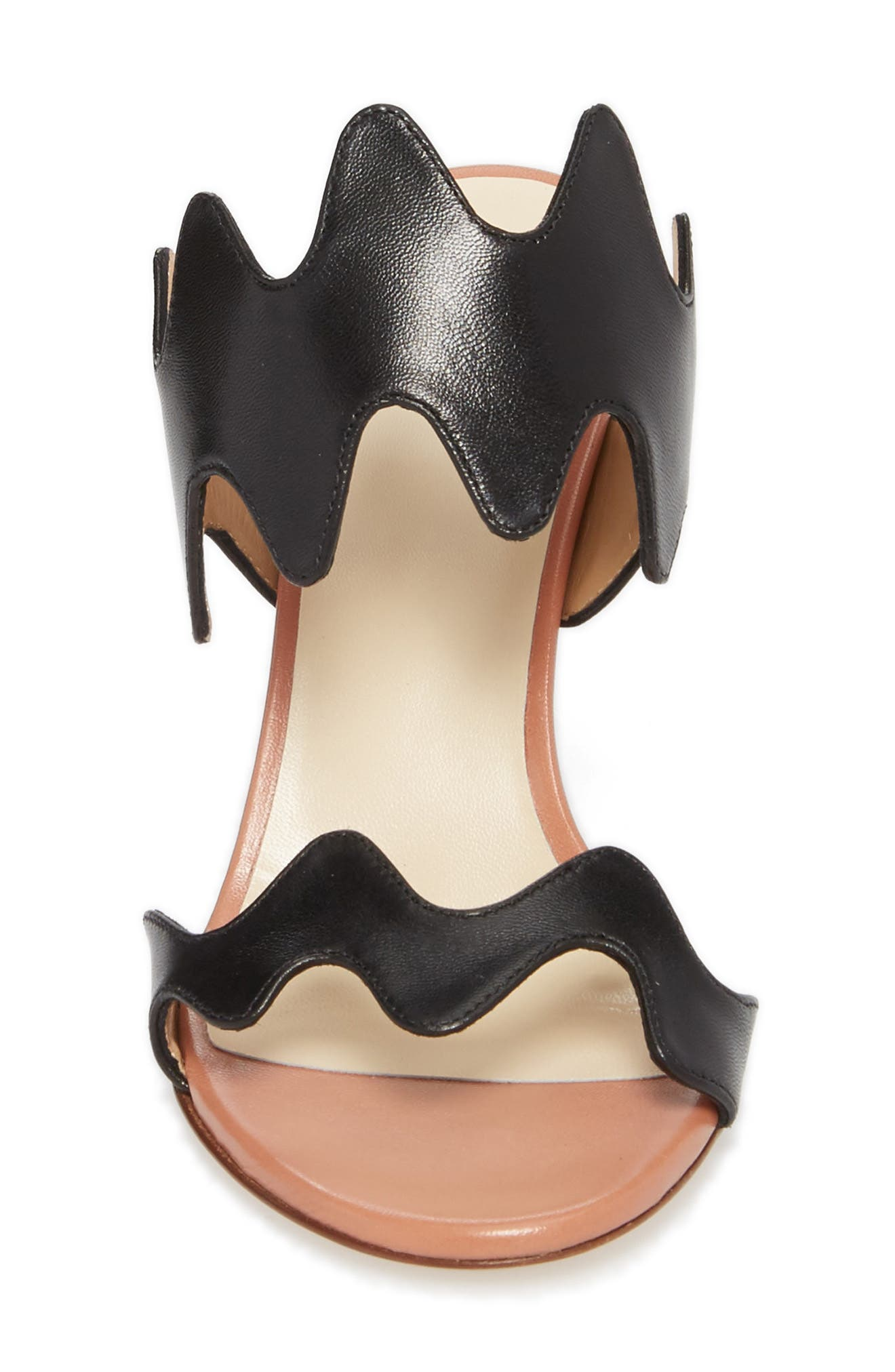 Alternate Image 4  - Francesco Russo Zigzag Sandal (Women)