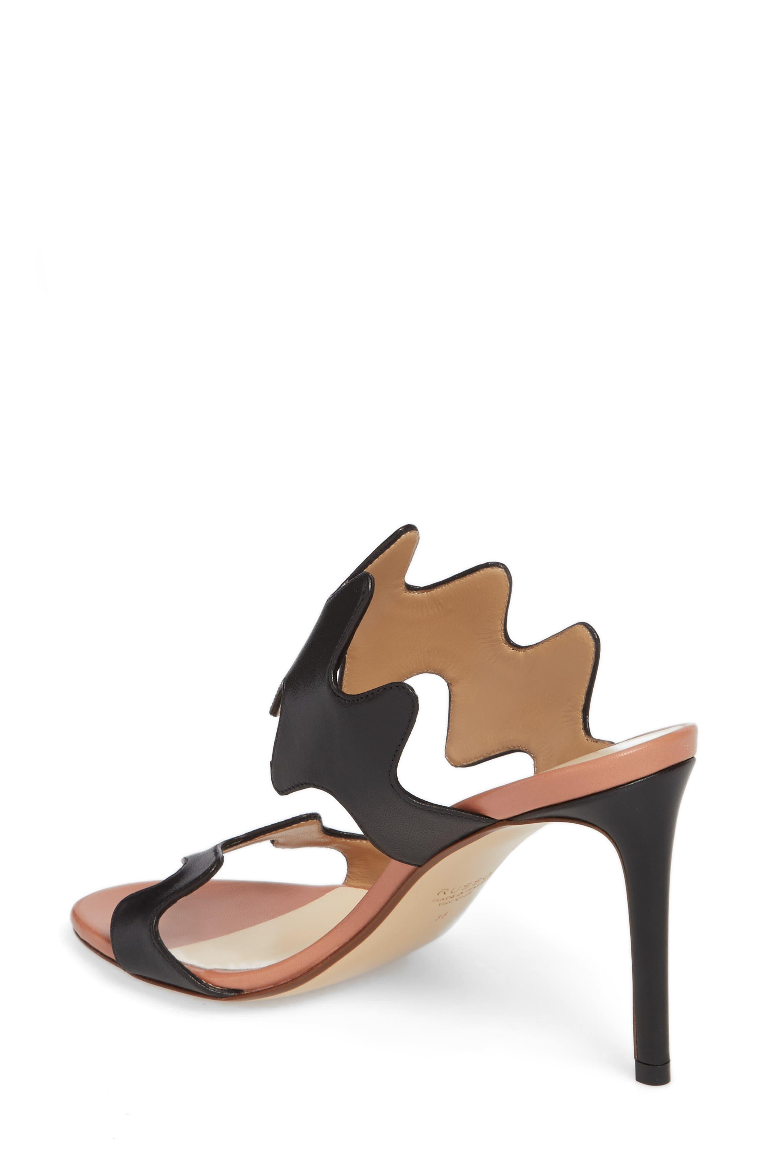 Alternate Image 2  - Francesco Russo Zigzag Sandal (Women)