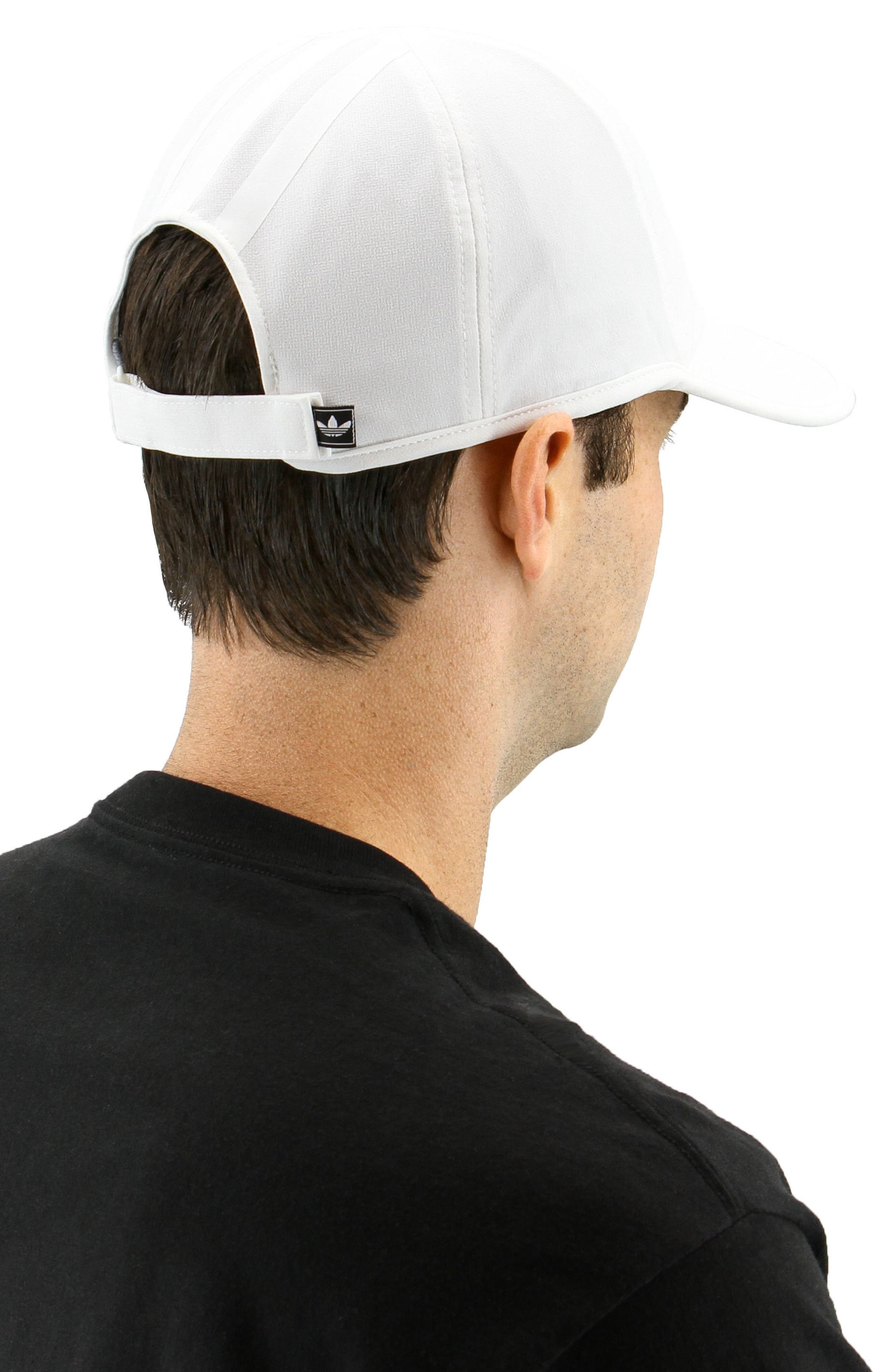 EQT Trainer Cap,                             Alternate thumbnail 3, color,                             White