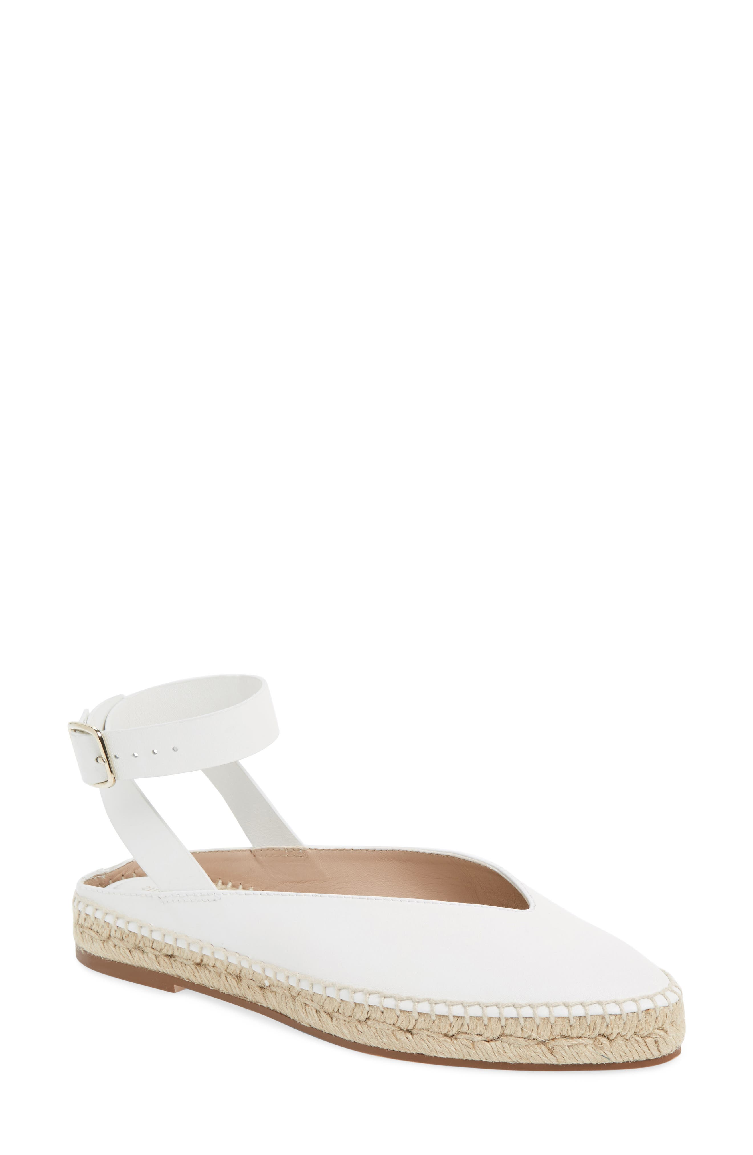 Toga Ankle Wrap Espadrille,                         Main,                         color, Off White Arizona
