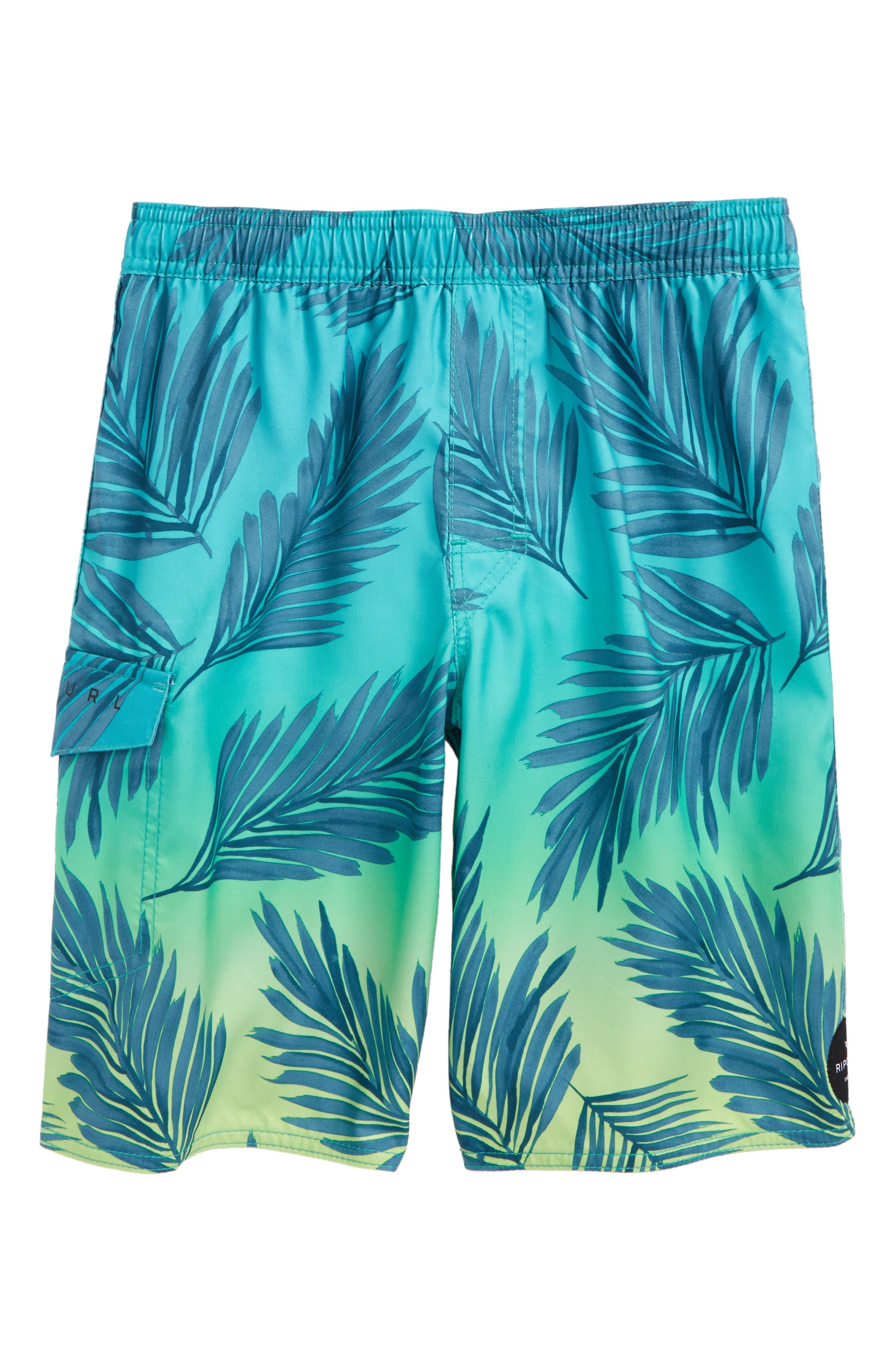 Alternate Image 1 Selected - Rip Curl Mason Volley Shorts (Big Boys)