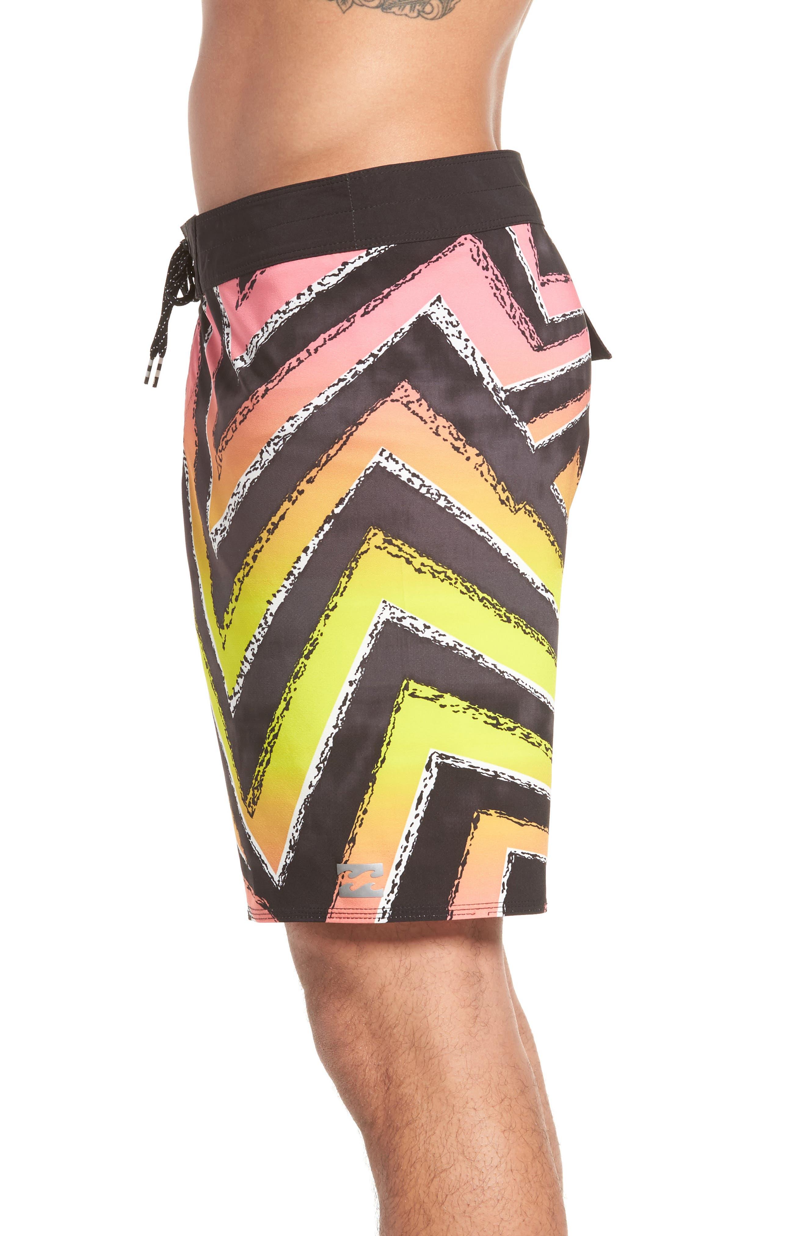 Sundays Airlite Board Shorts,                             Alternate thumbnail 3, color,                             Neon