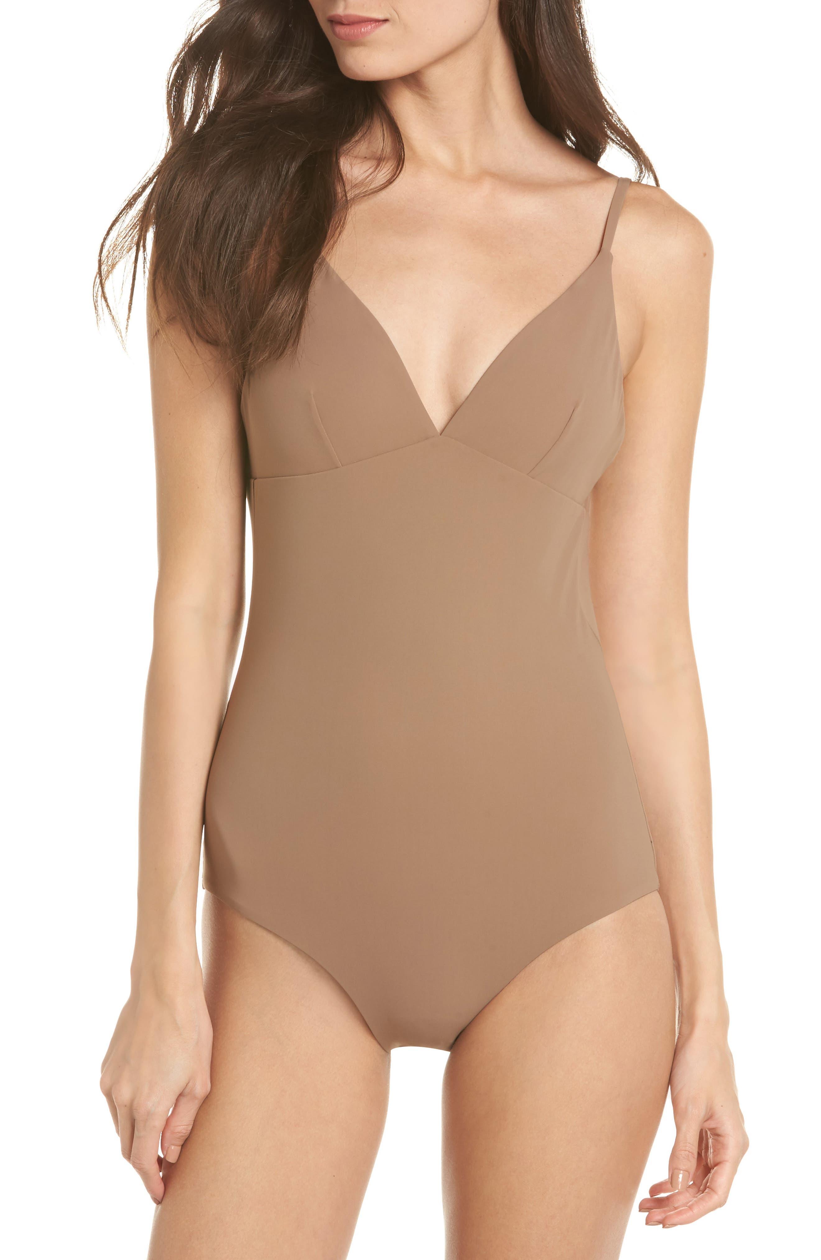 Tory Burch Marina One-Piece Swimsuit