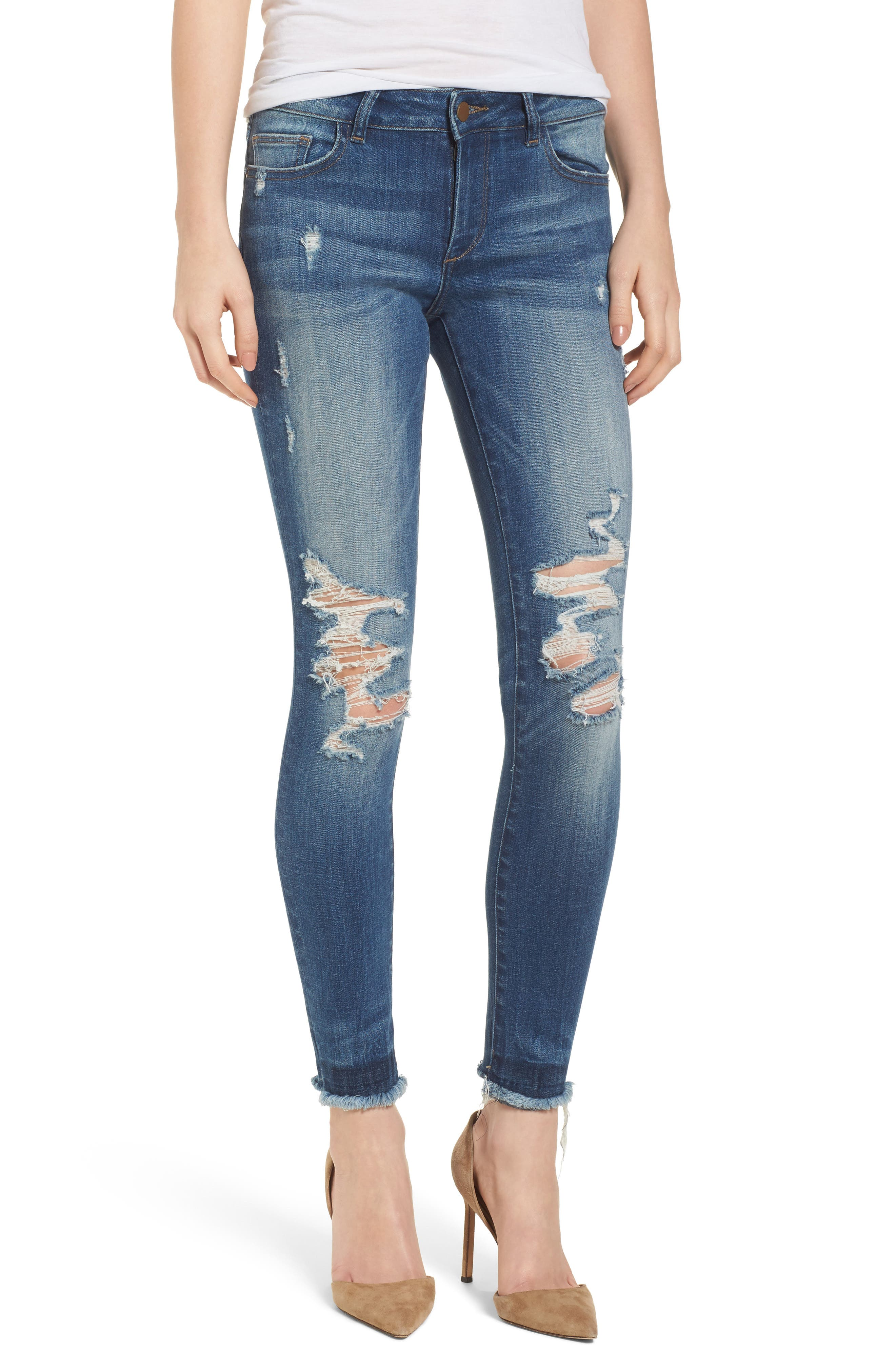 Emma Power Legging Jeans,                         Main,                         color, Westwood
