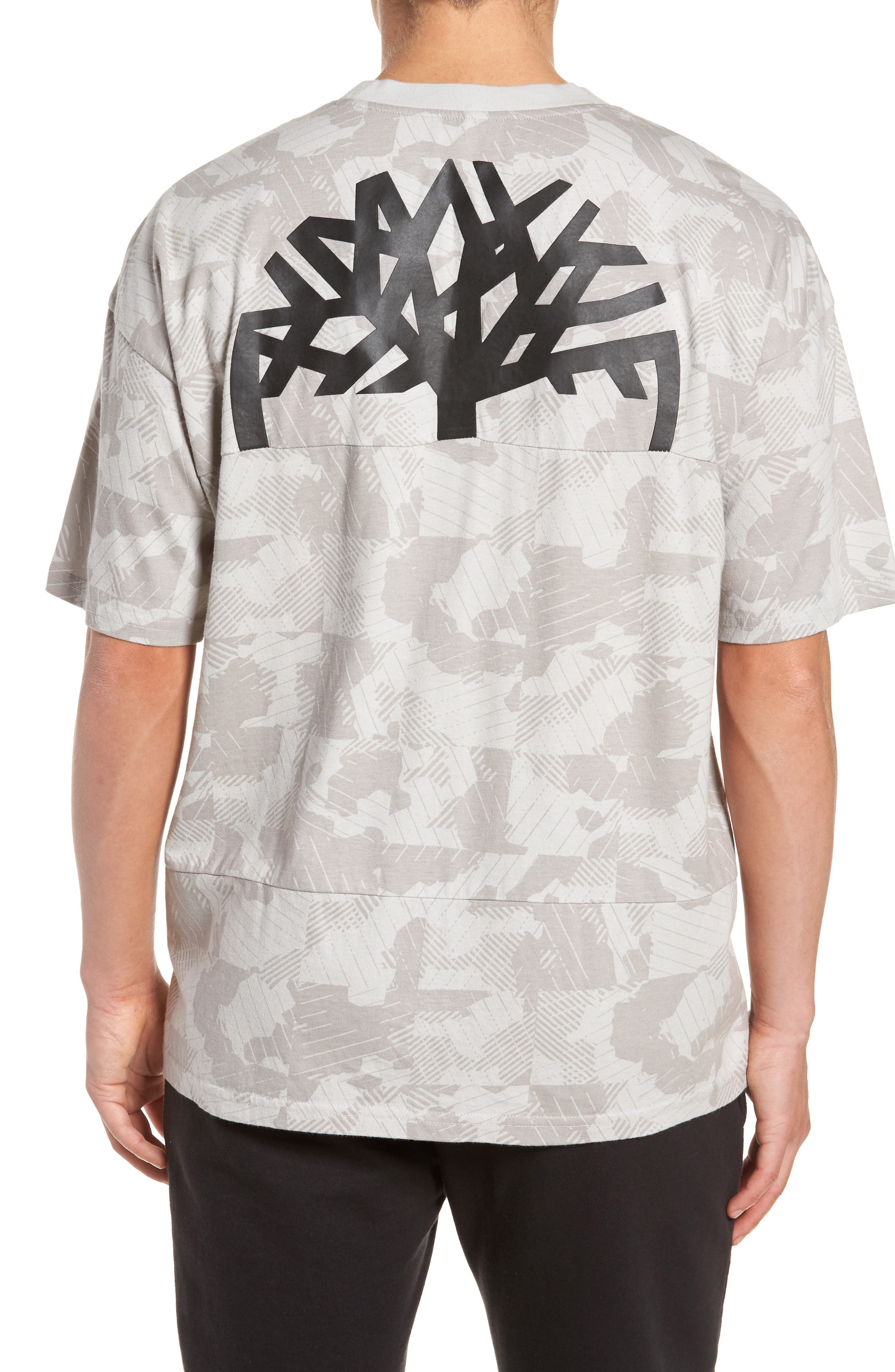 Disruptive Crewneck T-Shirt,                             Alternate thumbnail 2, color,                             Micro Chip Camo