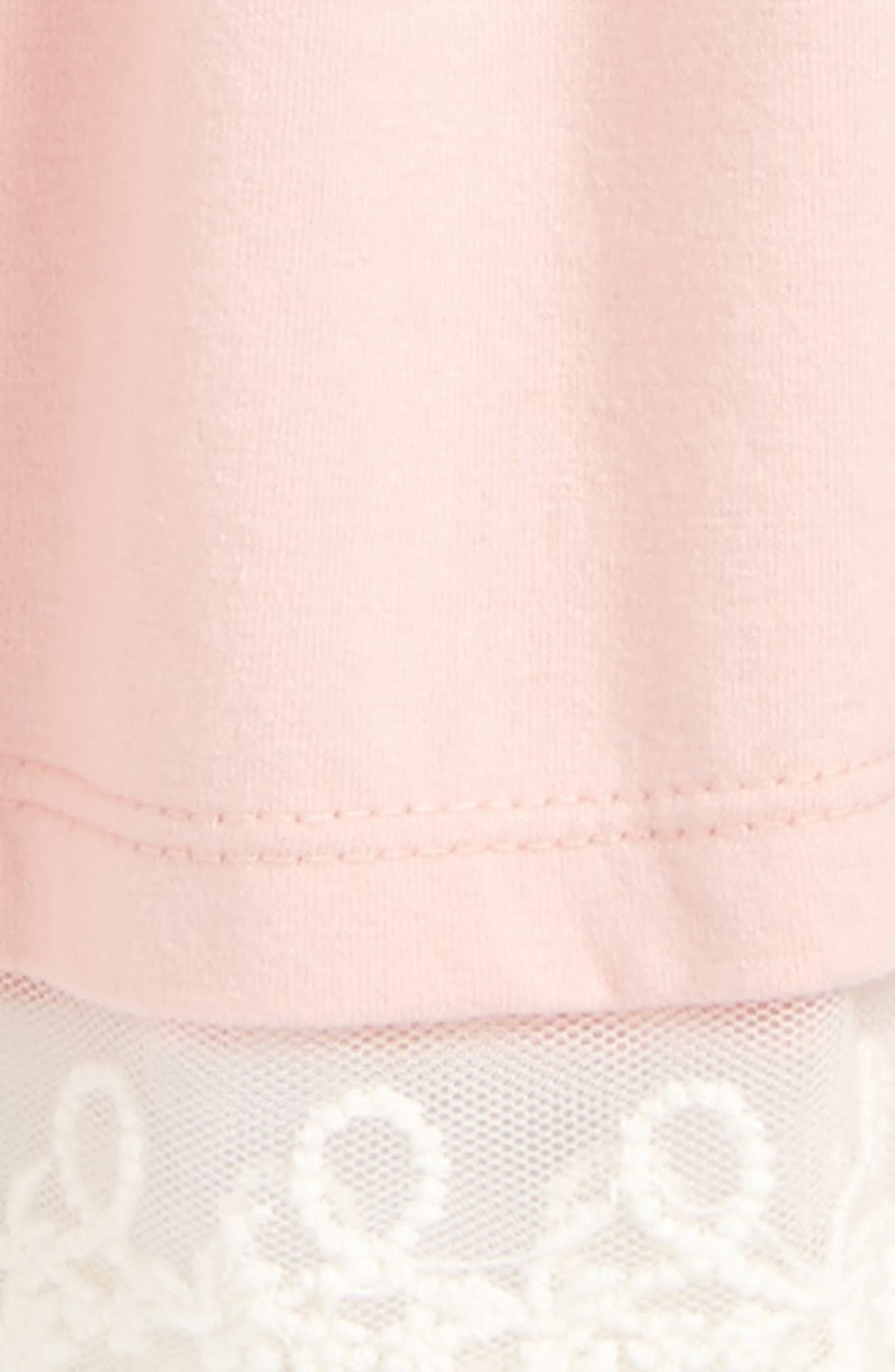 Jersey Dress,                             Alternate thumbnail 2, color,                             Pink Silver
