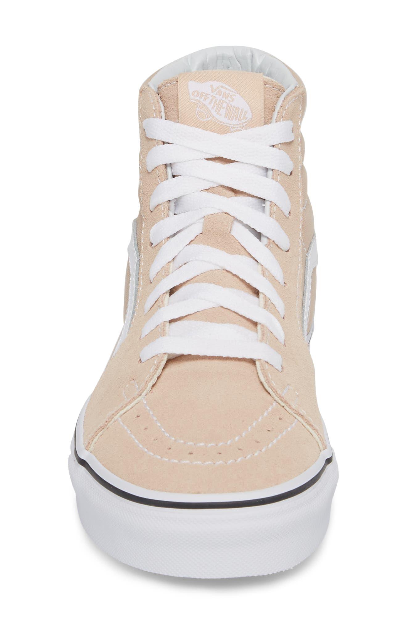 'Sk8-Hi Slim' Sneaker,                             Alternate thumbnail 5, color,                             Frappe/ True White