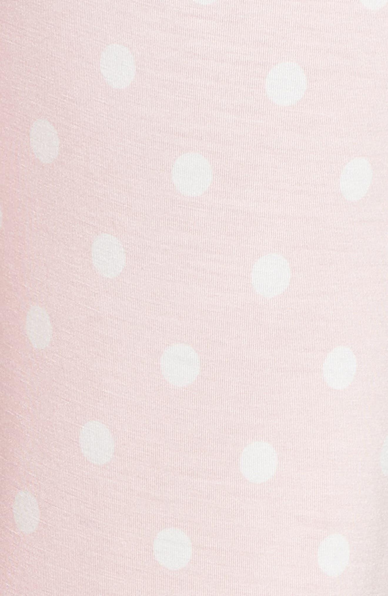 Drawstring Pajama Pants,                             Alternate thumbnail 5, color,                             Pink