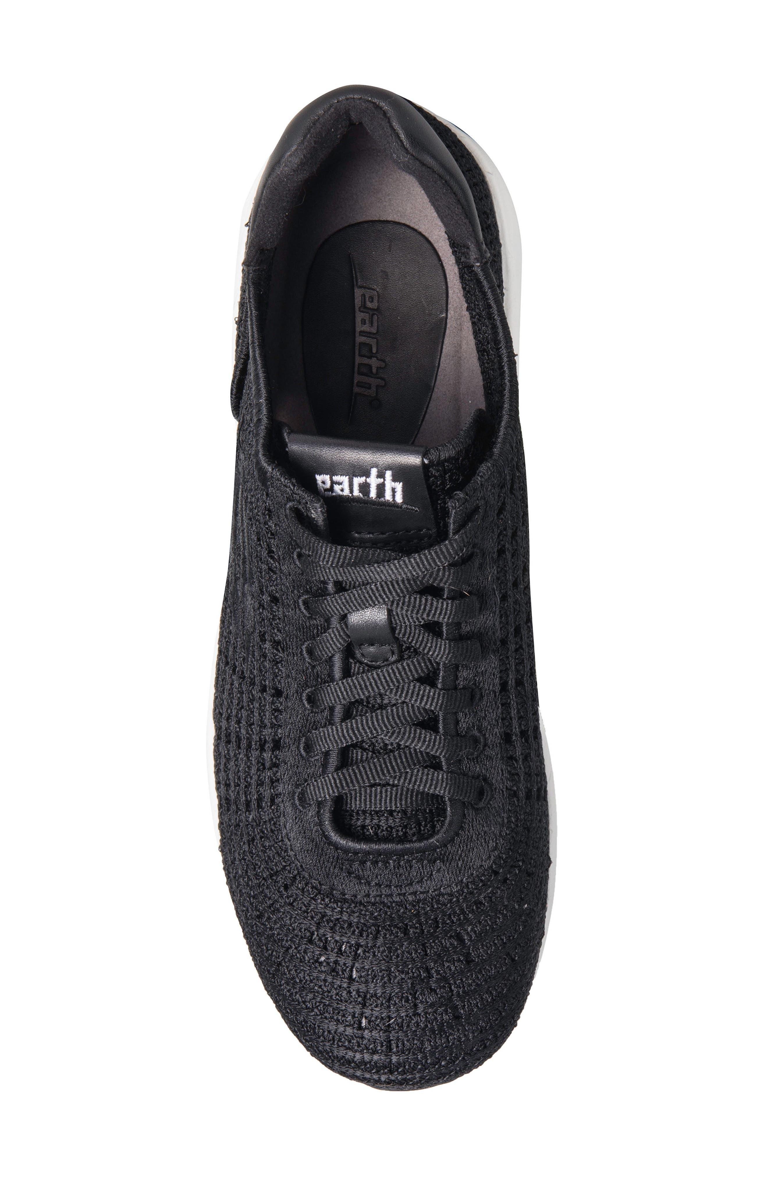 Earth Vital Sneaker,                             Alternate thumbnail 5, color,                             Black