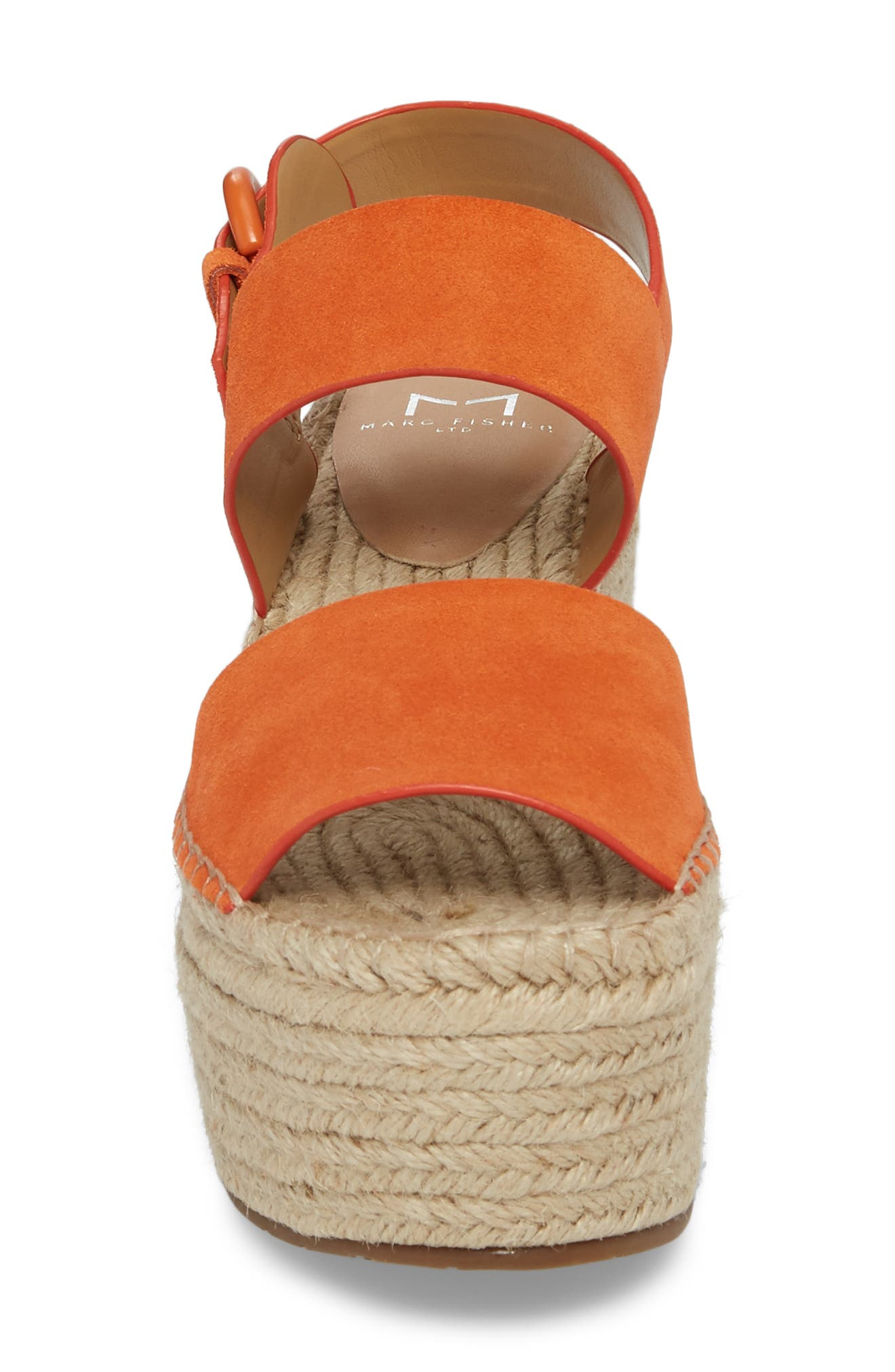 Alternate Image 4  - Marc Fisher LTD Renni Espadrille Platform Wedge Sandal (Women)