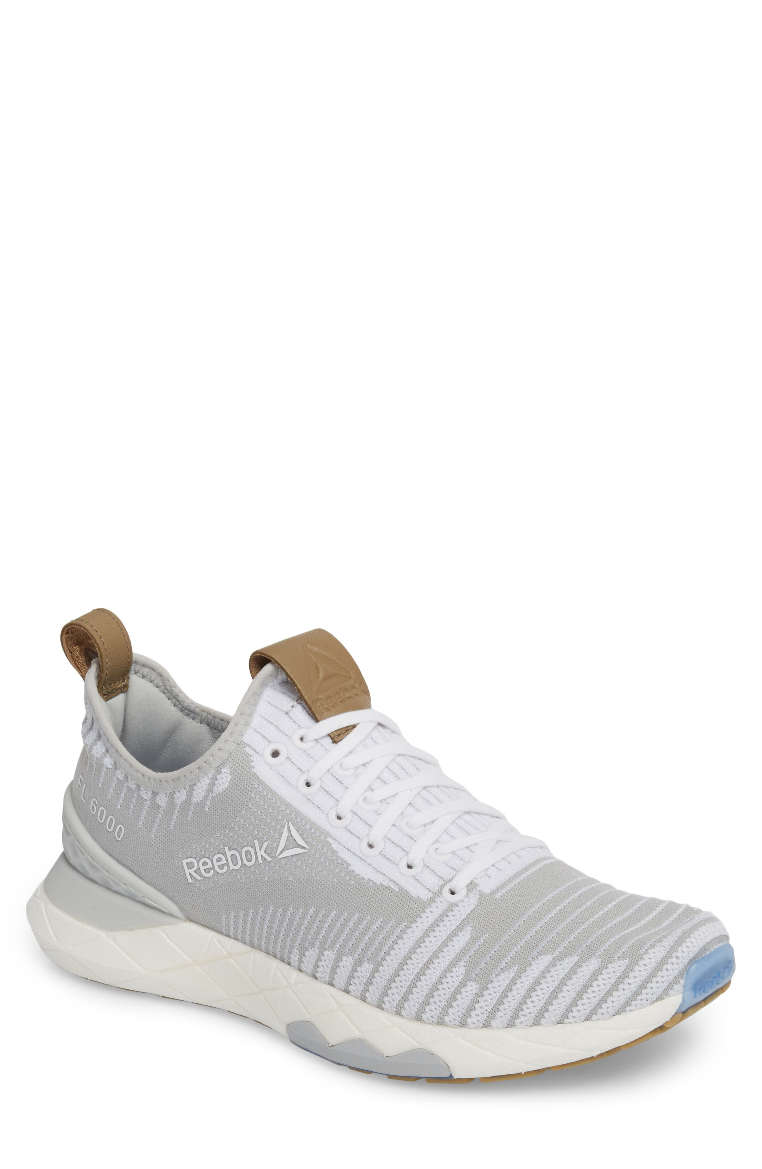 Shop Reebok Floatride Run 6000 Running Shoe In White  Skull Grey 234b9cabe