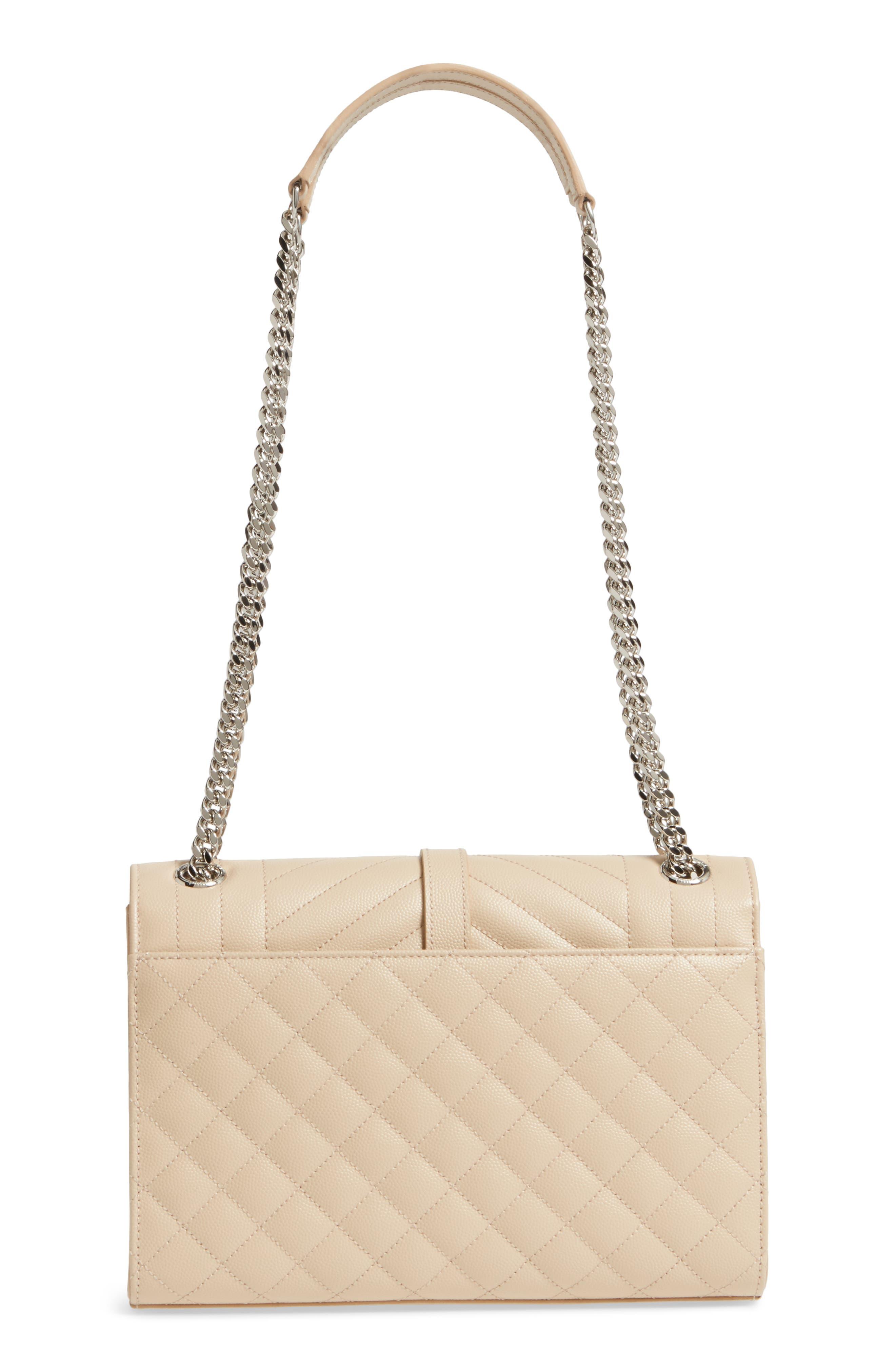 Alternate Image 3  - Saint Laurent Medium Calfskin Shoulder Bag