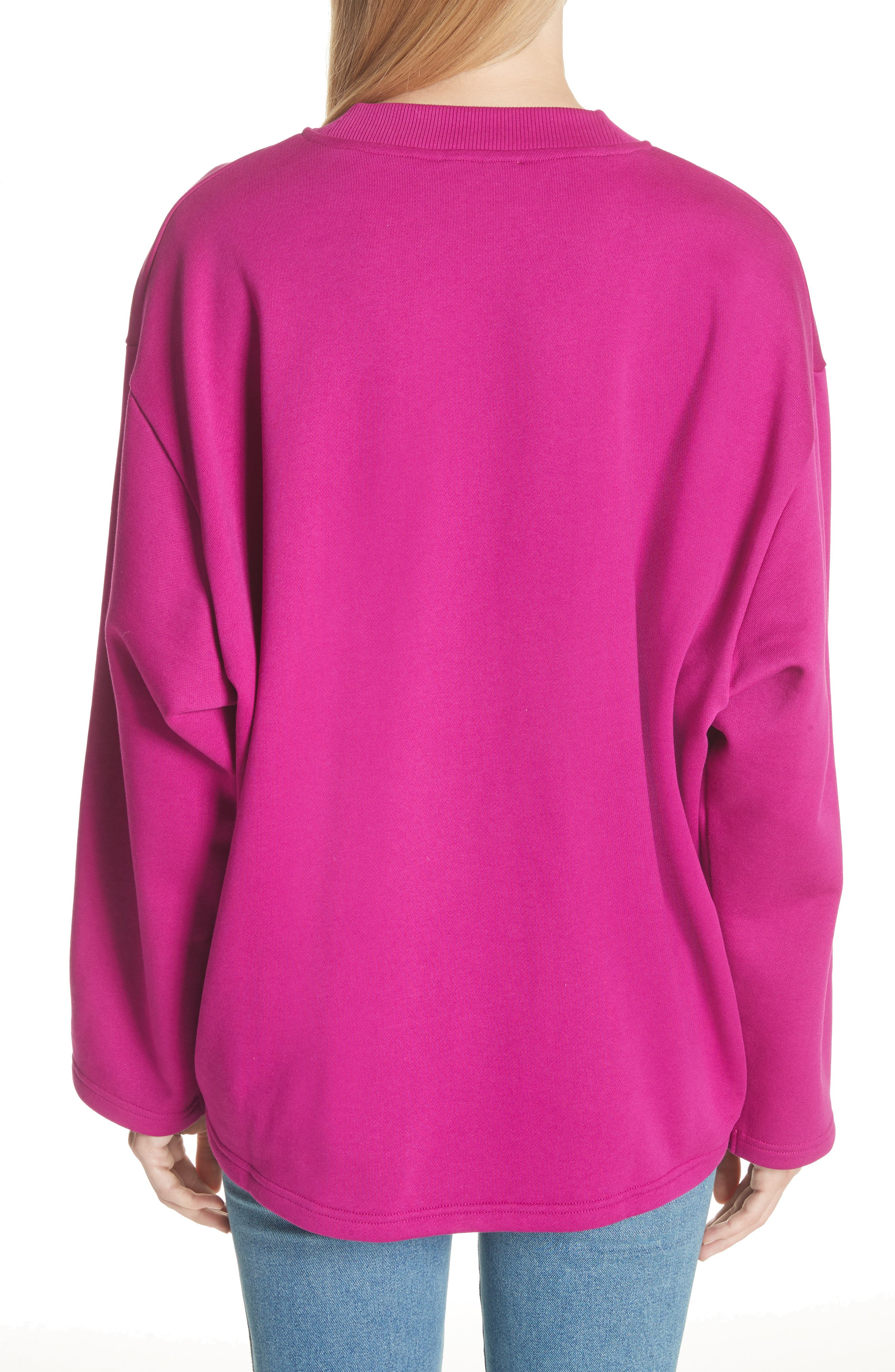 Karvell Sweatshirt,                             Alternate thumbnail 2, color,                             Acid Purple