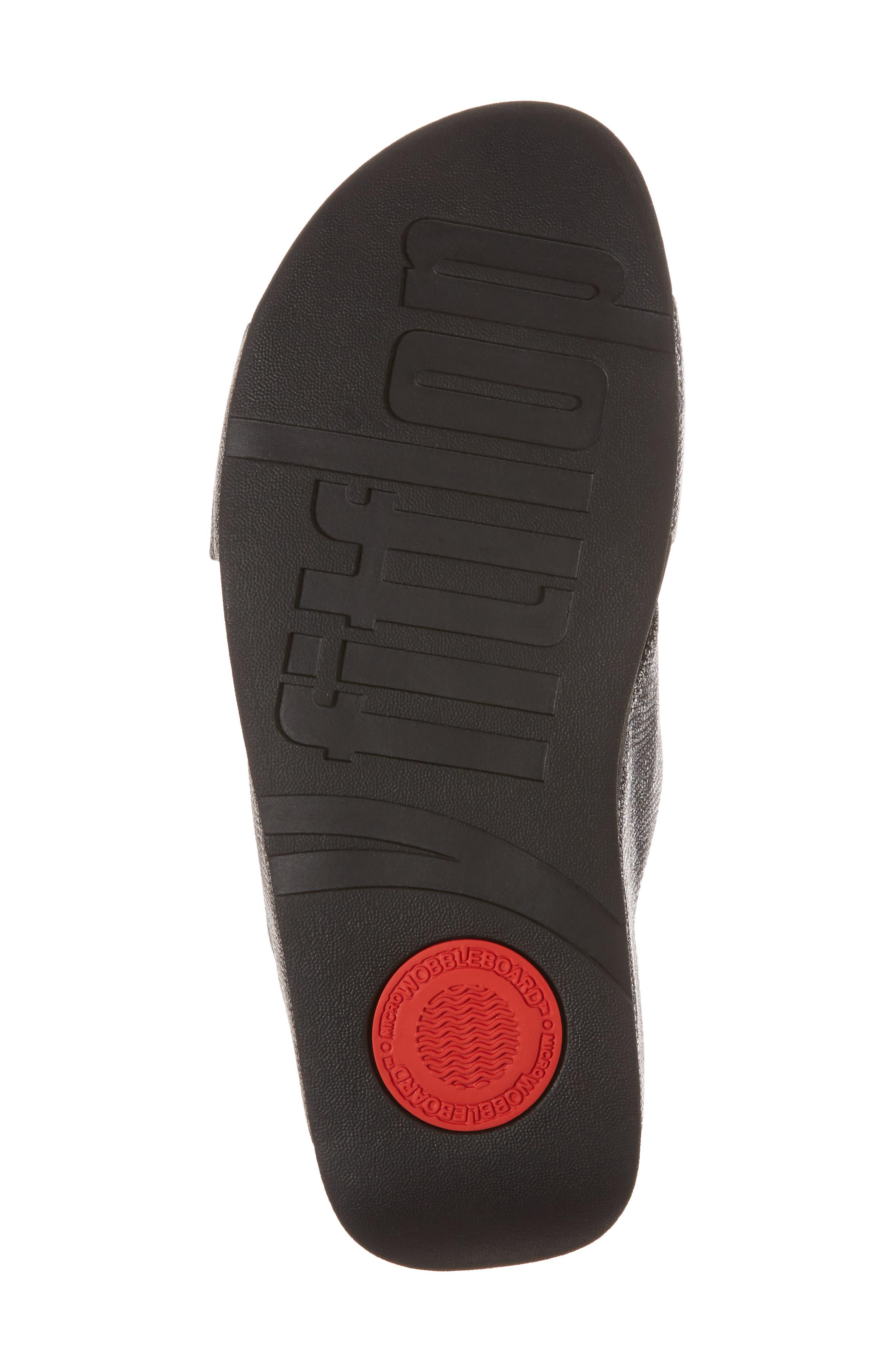 Alternate Image 6  - FitFlop Lulu Cross Slide Sandal (Women)