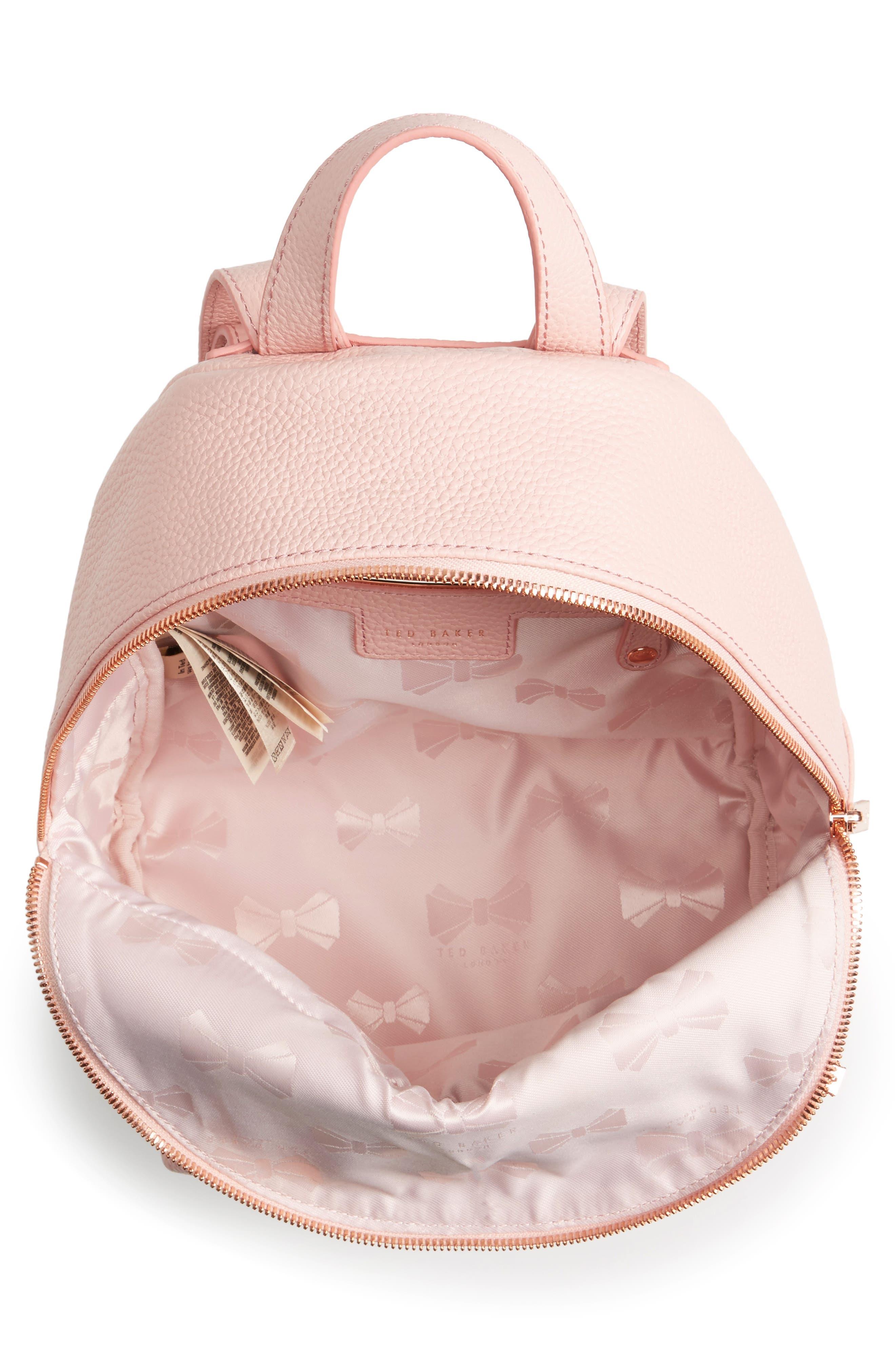 Alternate Image 4  - Ted Baker London Pearen Leather Backpack