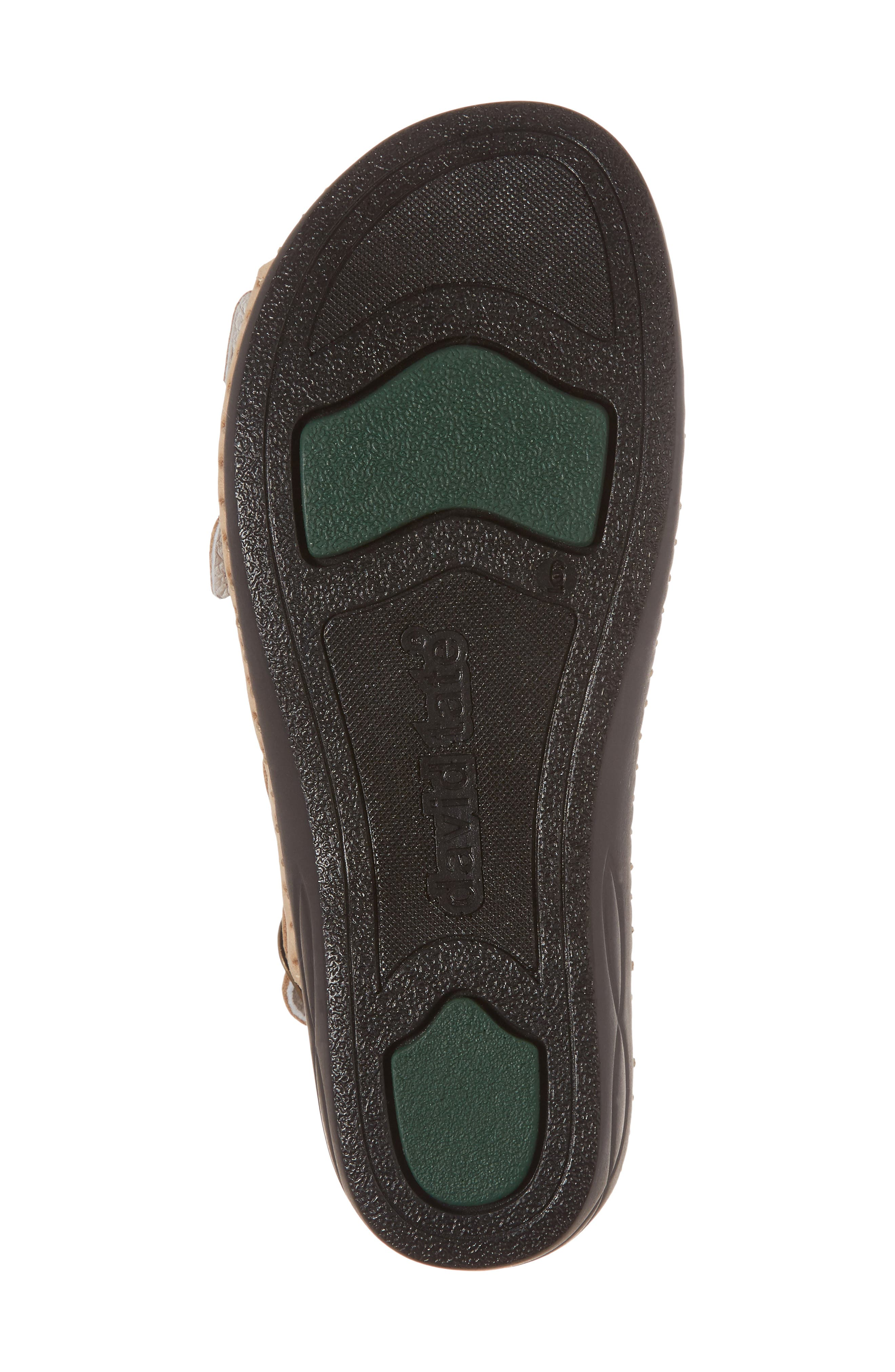 Luna Slingback Wedge Sandal,                             Alternate thumbnail 6, color,                             Cappuccino Nubuck