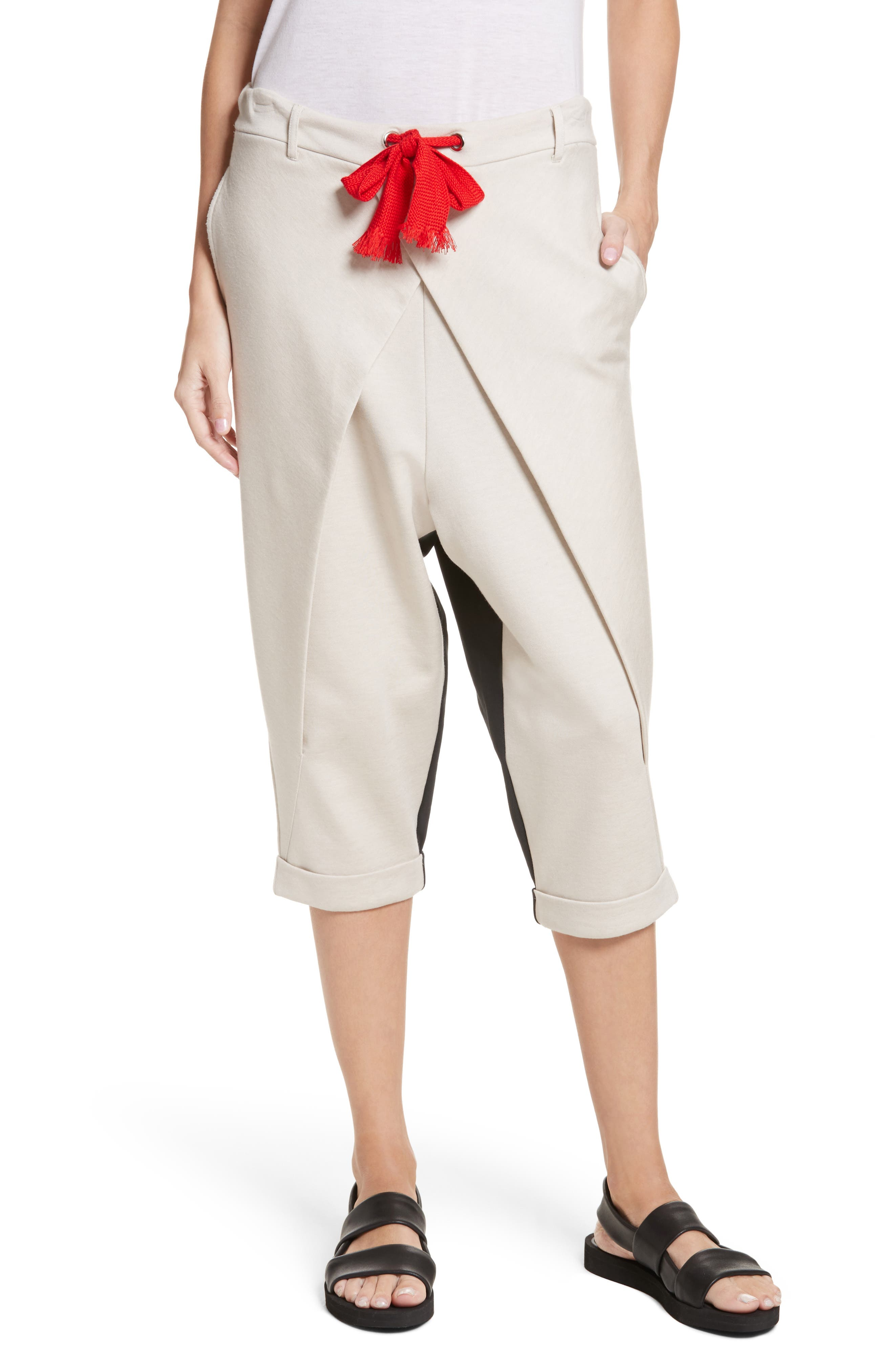 Neverbefore Foldover Crop Pants