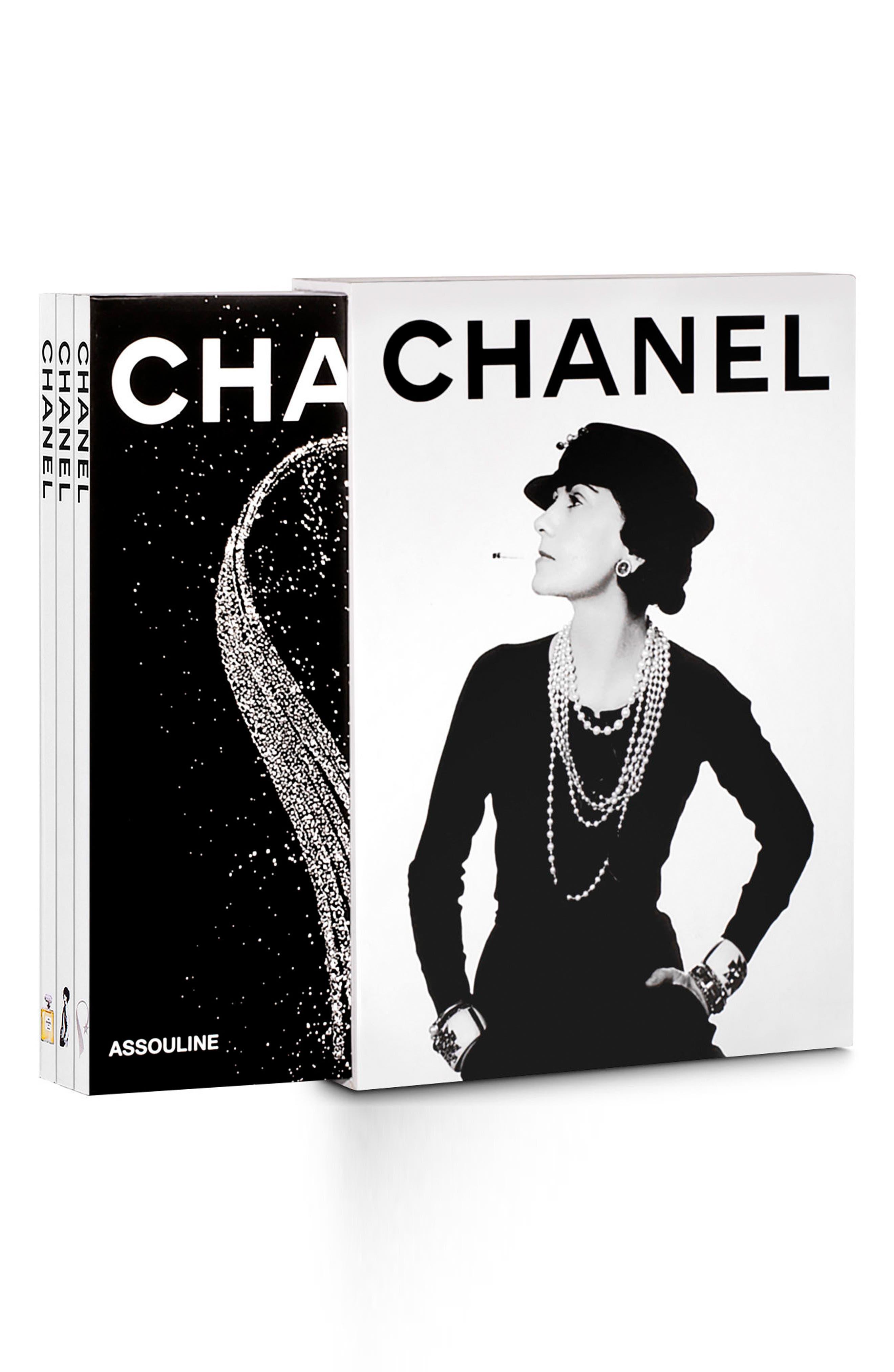 'Chanel' Three-Book Set,                         Main,                         color, White/Black