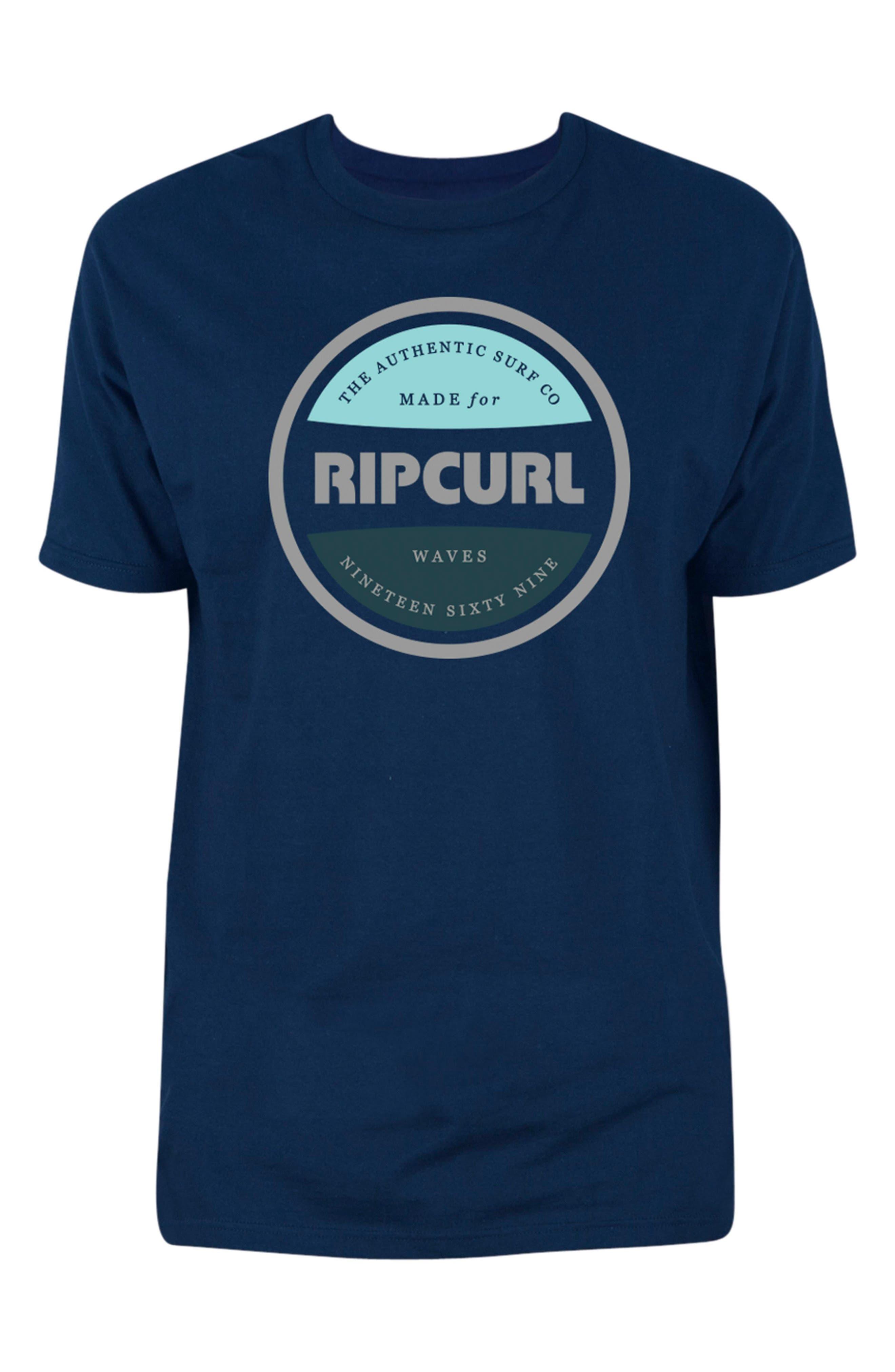 Authentic Premium T-Shirt,                         Main,                         color, Navy