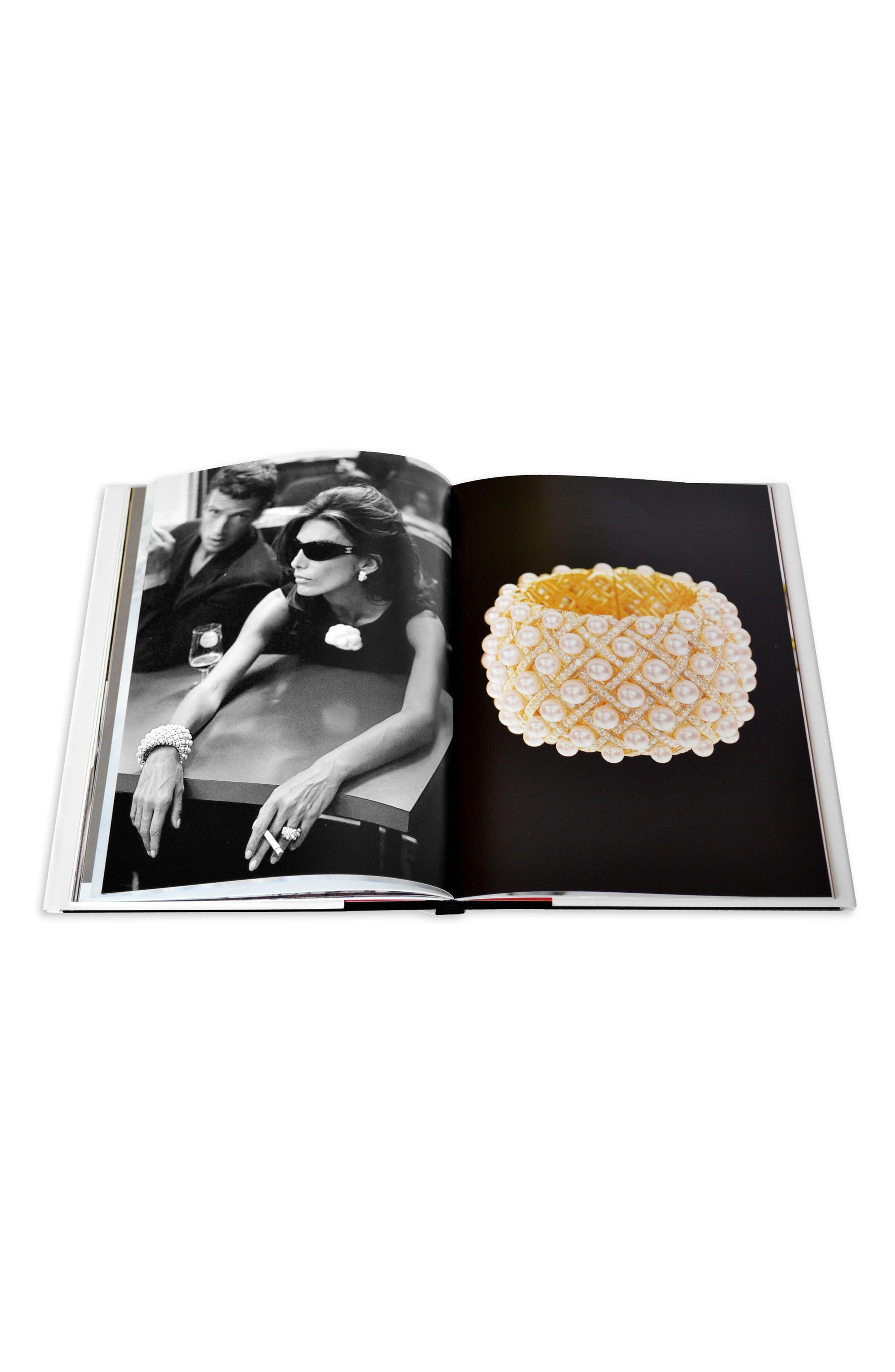 'Chanel' Three-Book Set,                             Alternate thumbnail 4, color,                             White/Black