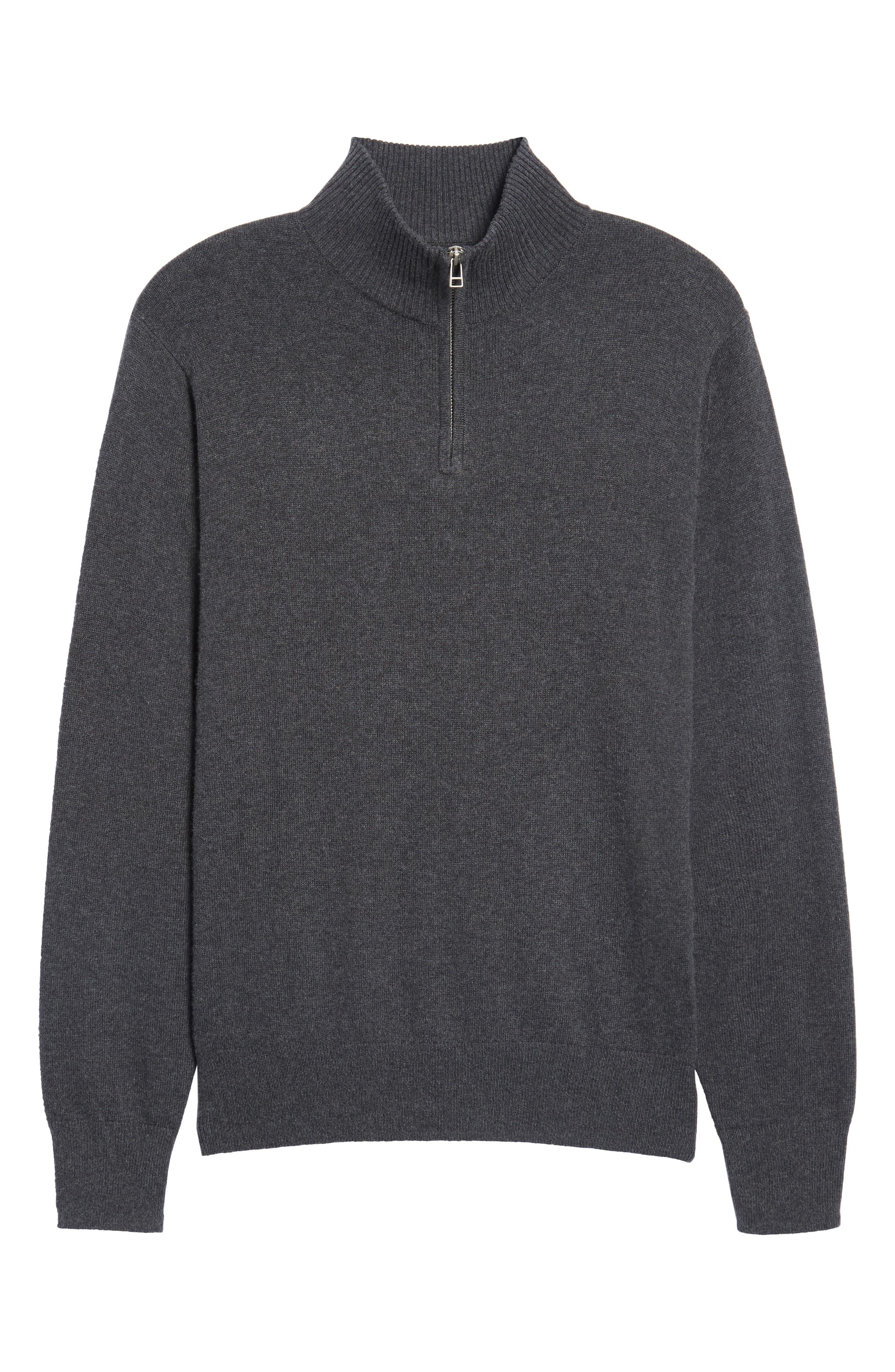 Alternate Image 6  - Bonobos Cotton & Cashmere Quarter Zip Sweater