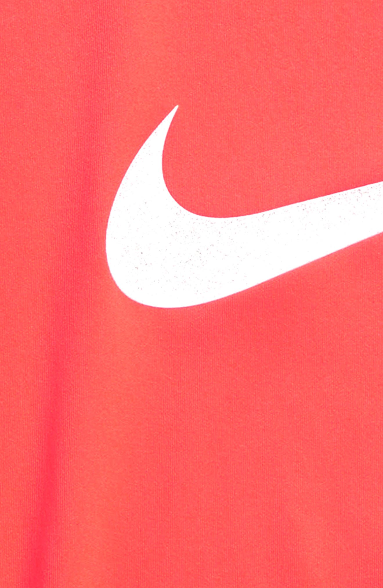Dry Swoosh Graphic Tunic,                             Alternate thumbnail 2, color,                             Hot Punch