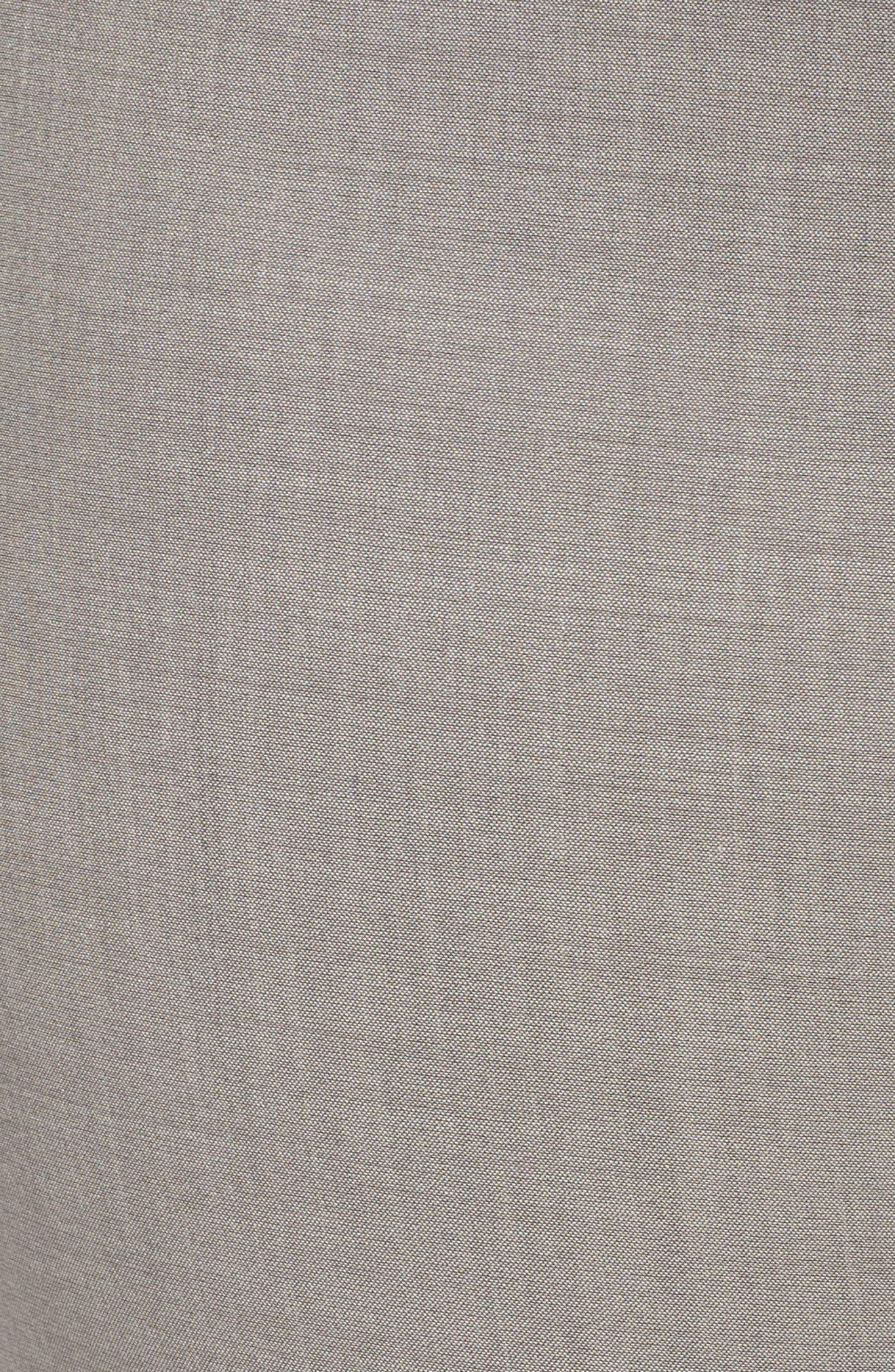 Bleecker Stretch Wool Suit Pants,                             Alternate thumbnail 5, color,                             Feather Grey Melange