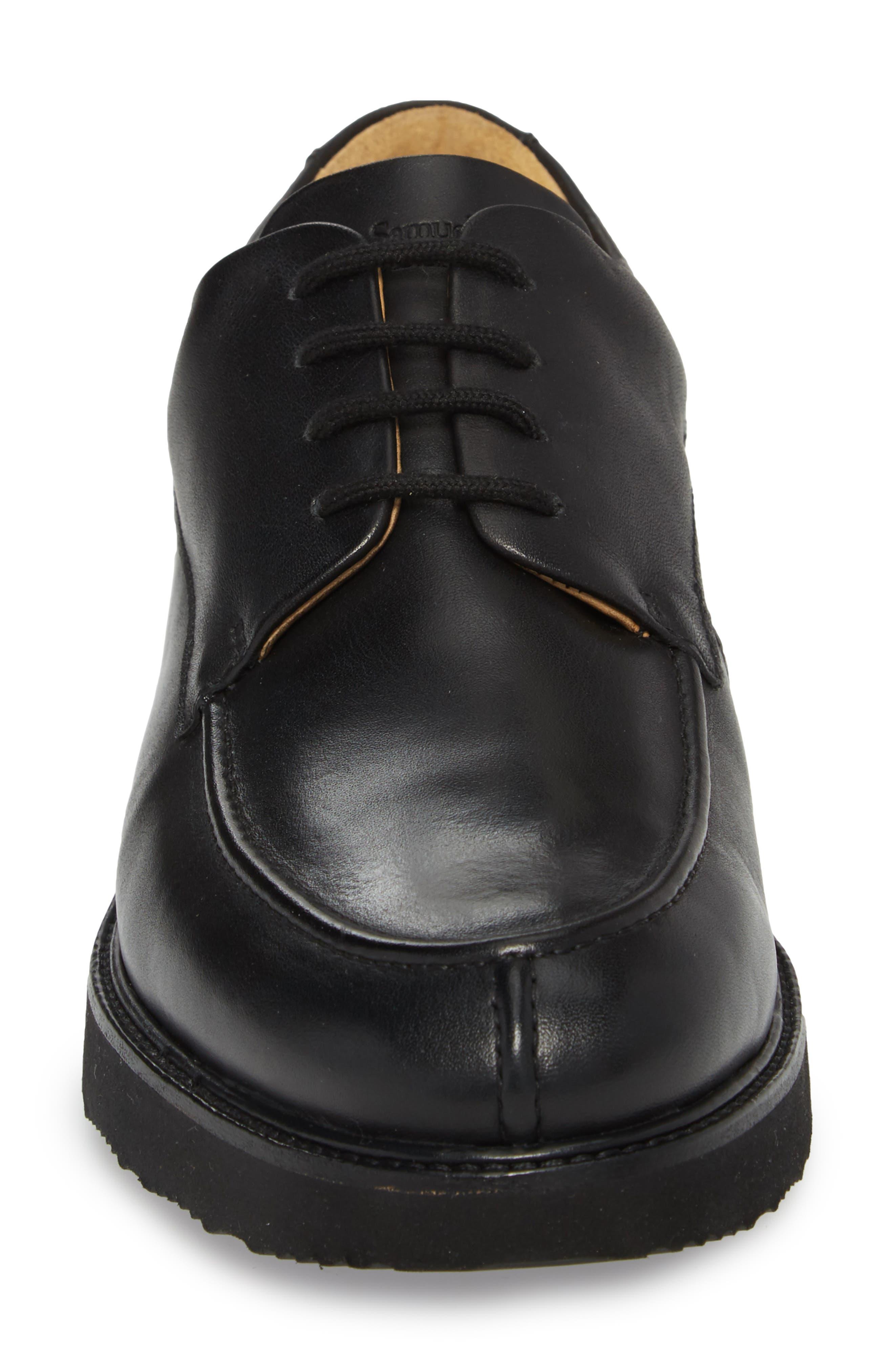 City Legend Derby,                             Alternate thumbnail 4, color,                             Black Leather