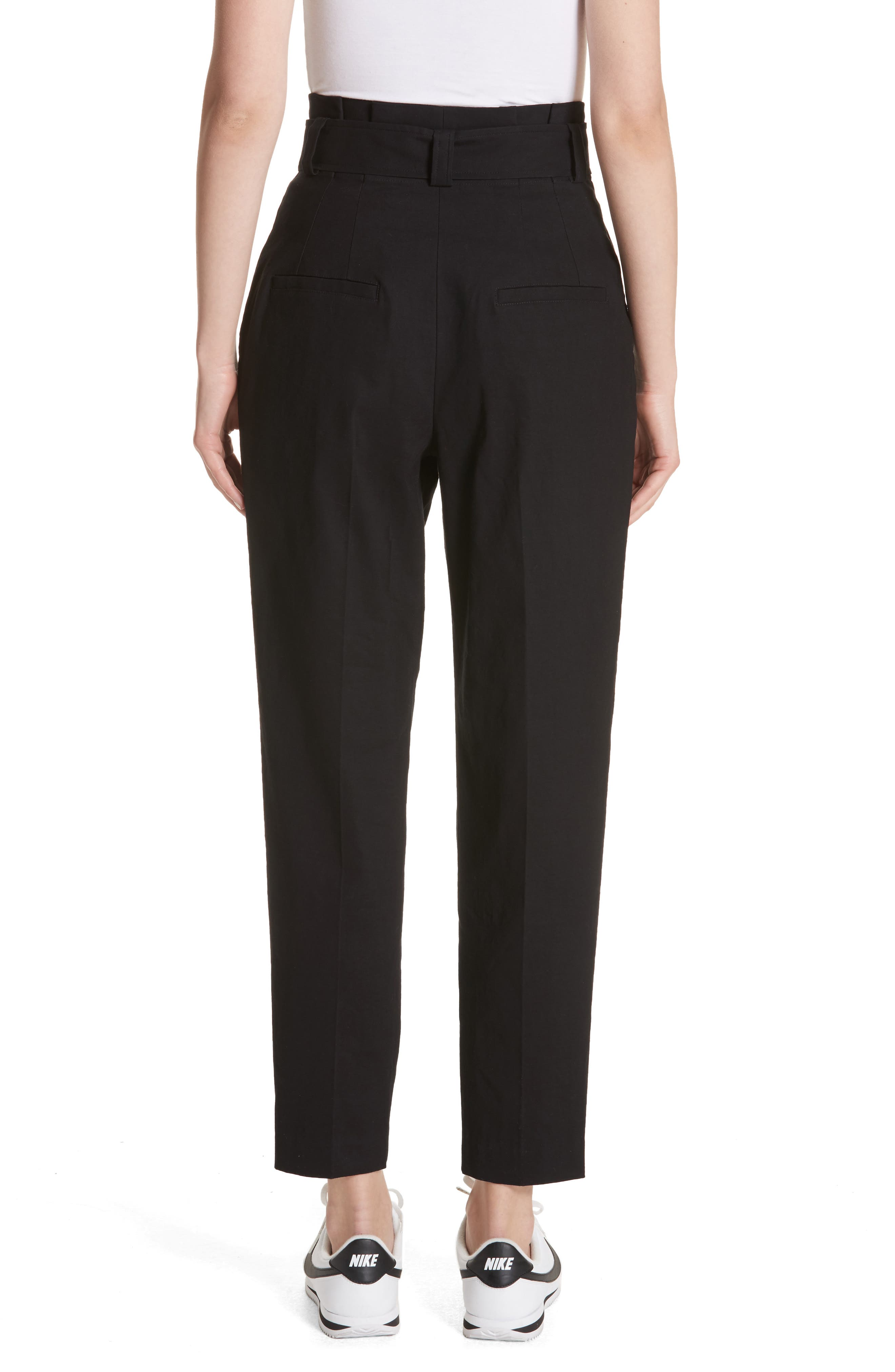Diego High Waist Pants,                             Alternate thumbnail 2, color,                             Black