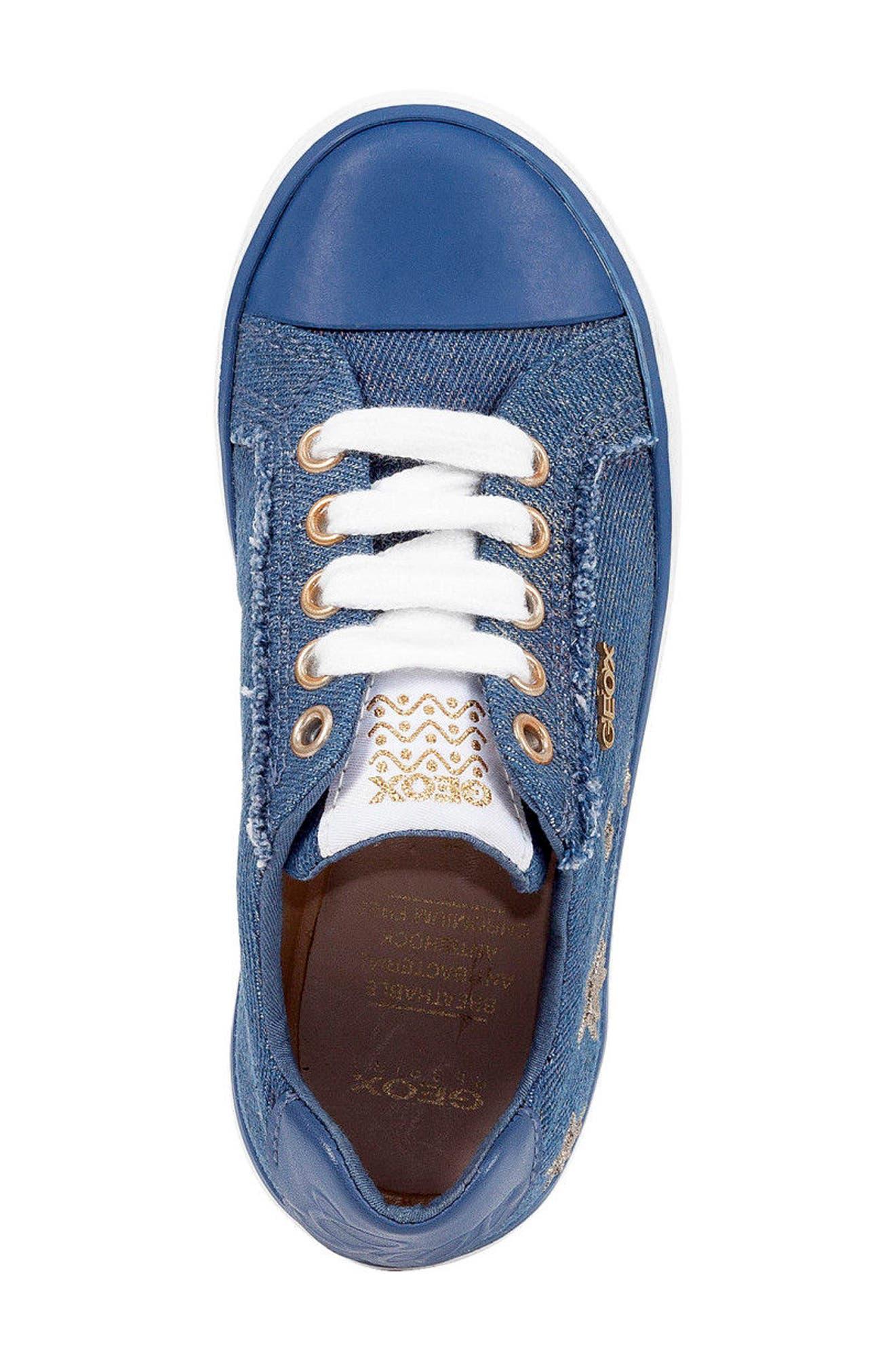 Kilwi Low Top Sneaker,                             Alternate thumbnail 4, color,                             Avio