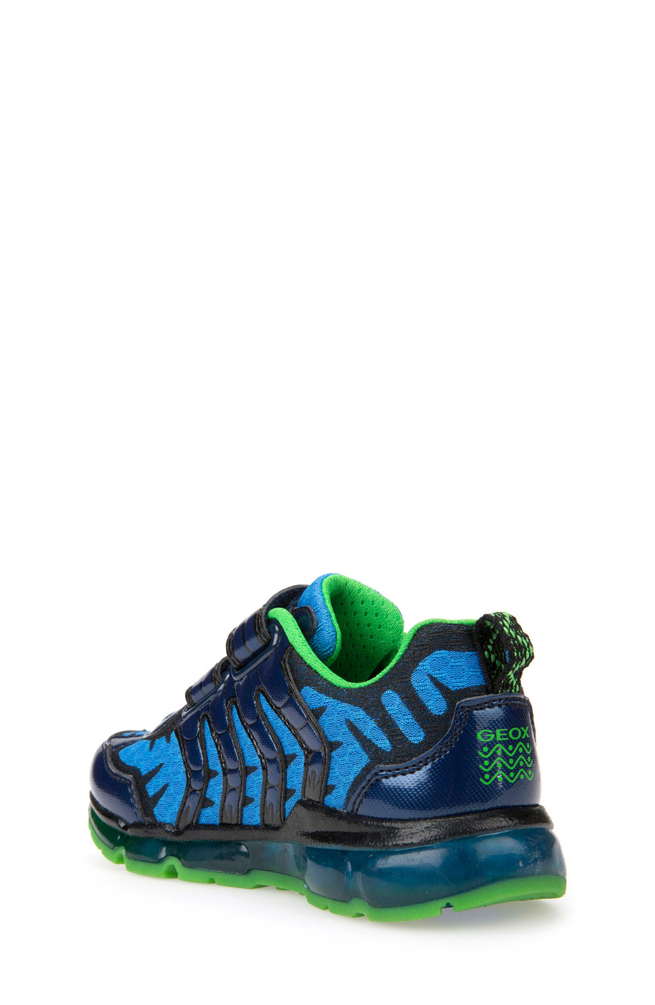Android Light-Up Sneaker,                             Alternate thumbnail 2, color,                             Navy