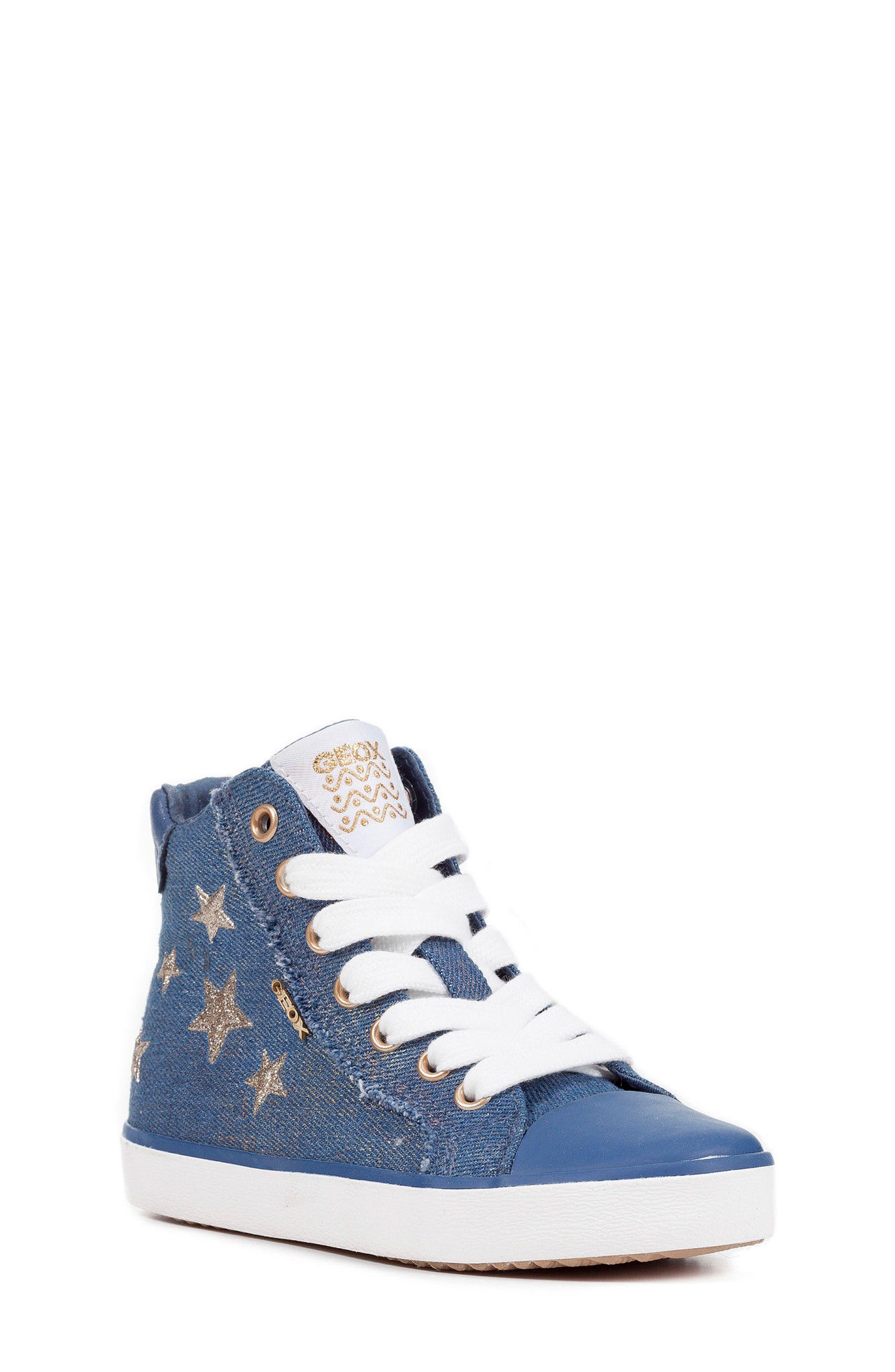 Kilwi High Top Zip Sneaker,                             Main thumbnail 1, color,                             Avio