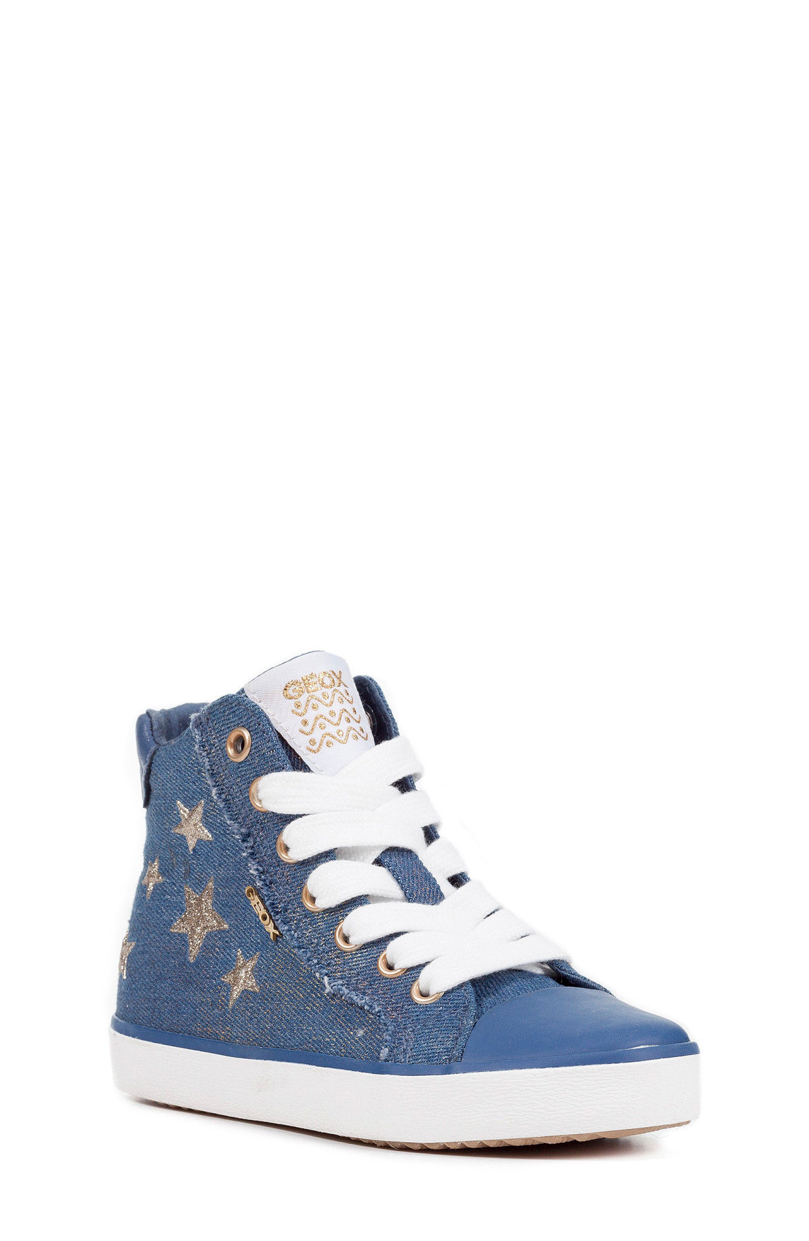 Kilwi High Top Zip Sneaker,                         Main,                         color, Avio