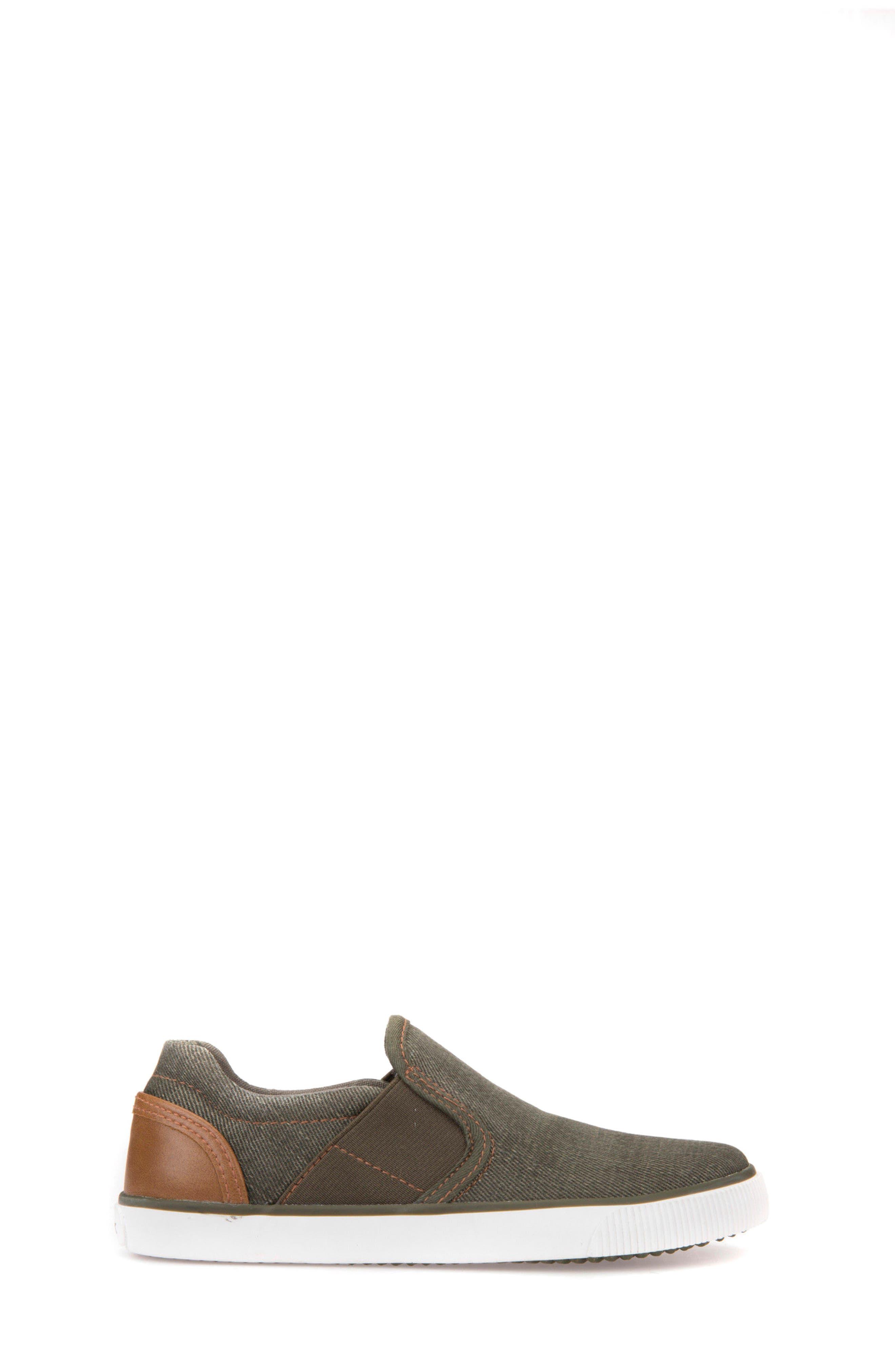 Kilwi Slip-On Sneaker,                             Alternate thumbnail 3, color,                             Military/ Light Brown