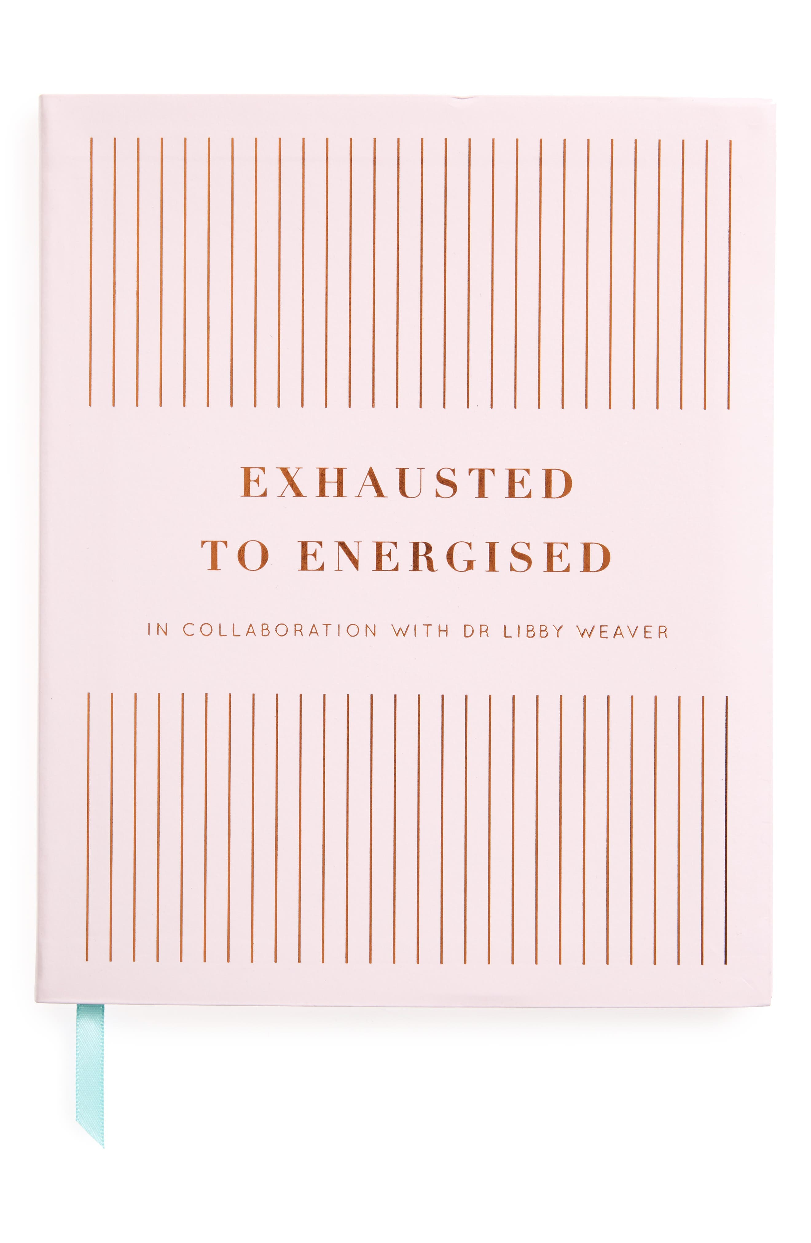 Exhausted to Energised Journal,                             Main thumbnail 1, color,                             Pink