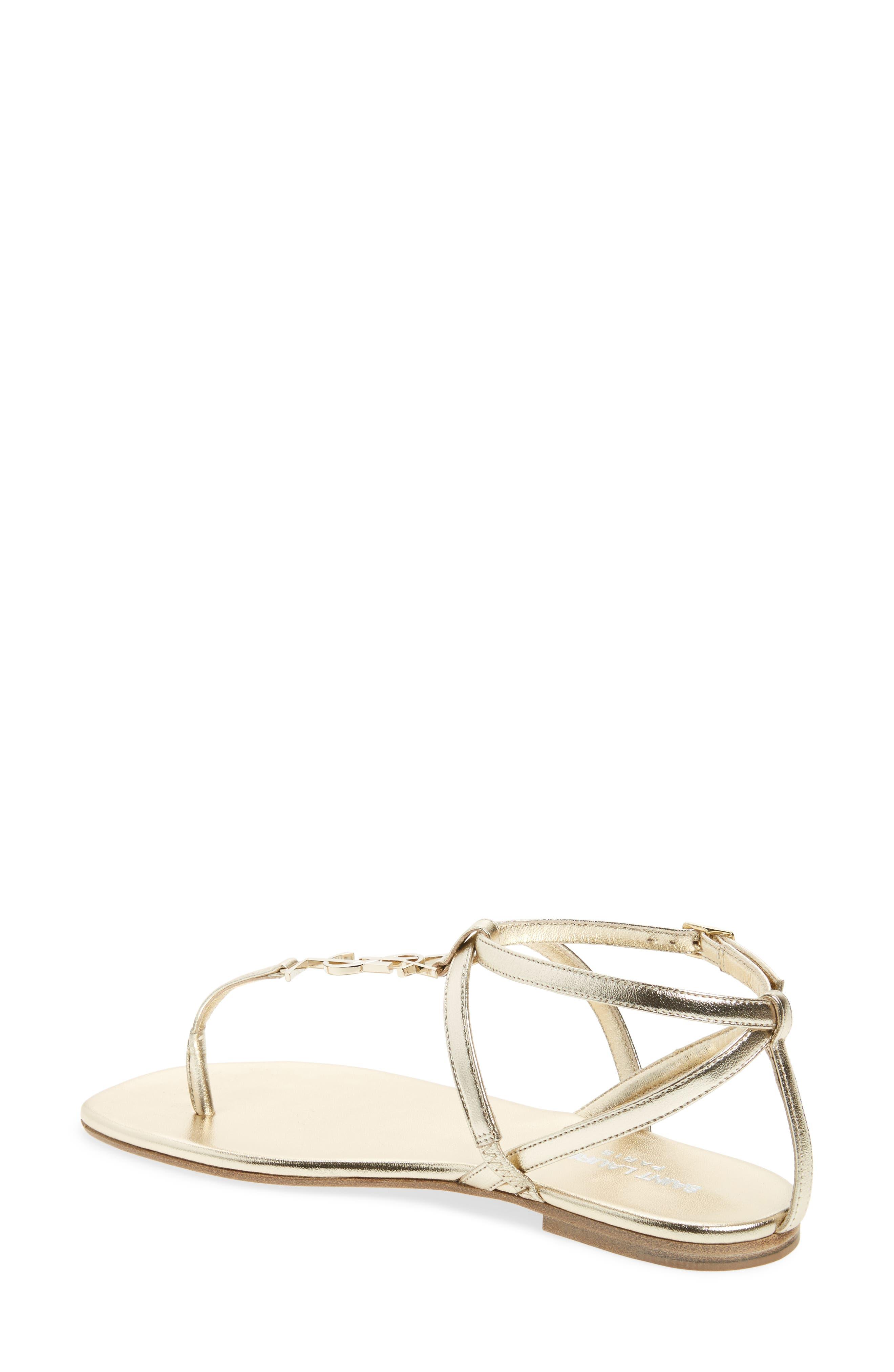 Alternate Image 2  - Saint Laurent Nu Pied T-Strap Sandal (Women)