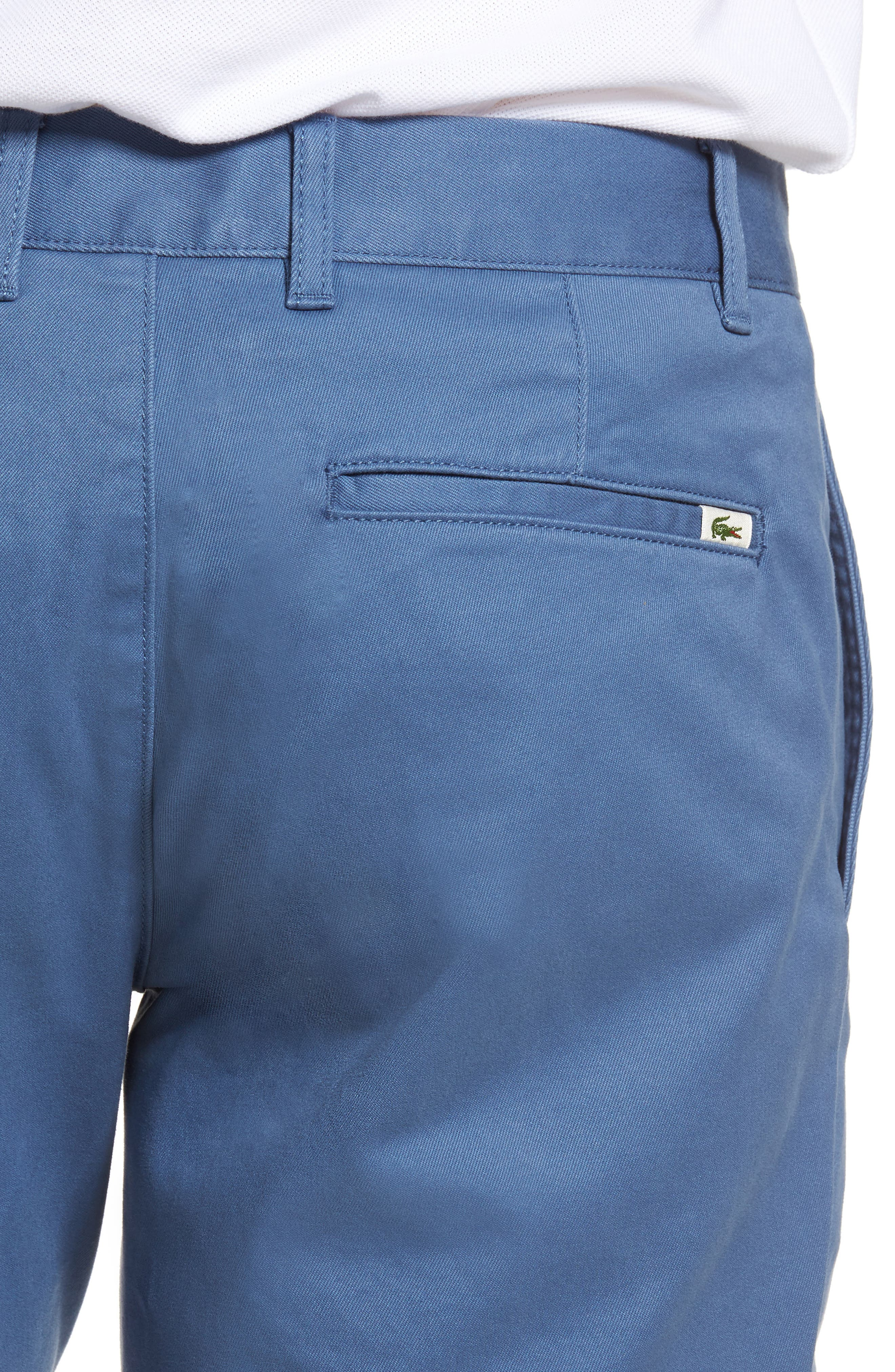 Slim Fit Chino Shorts,                             Alternate thumbnail 4, color,                             King