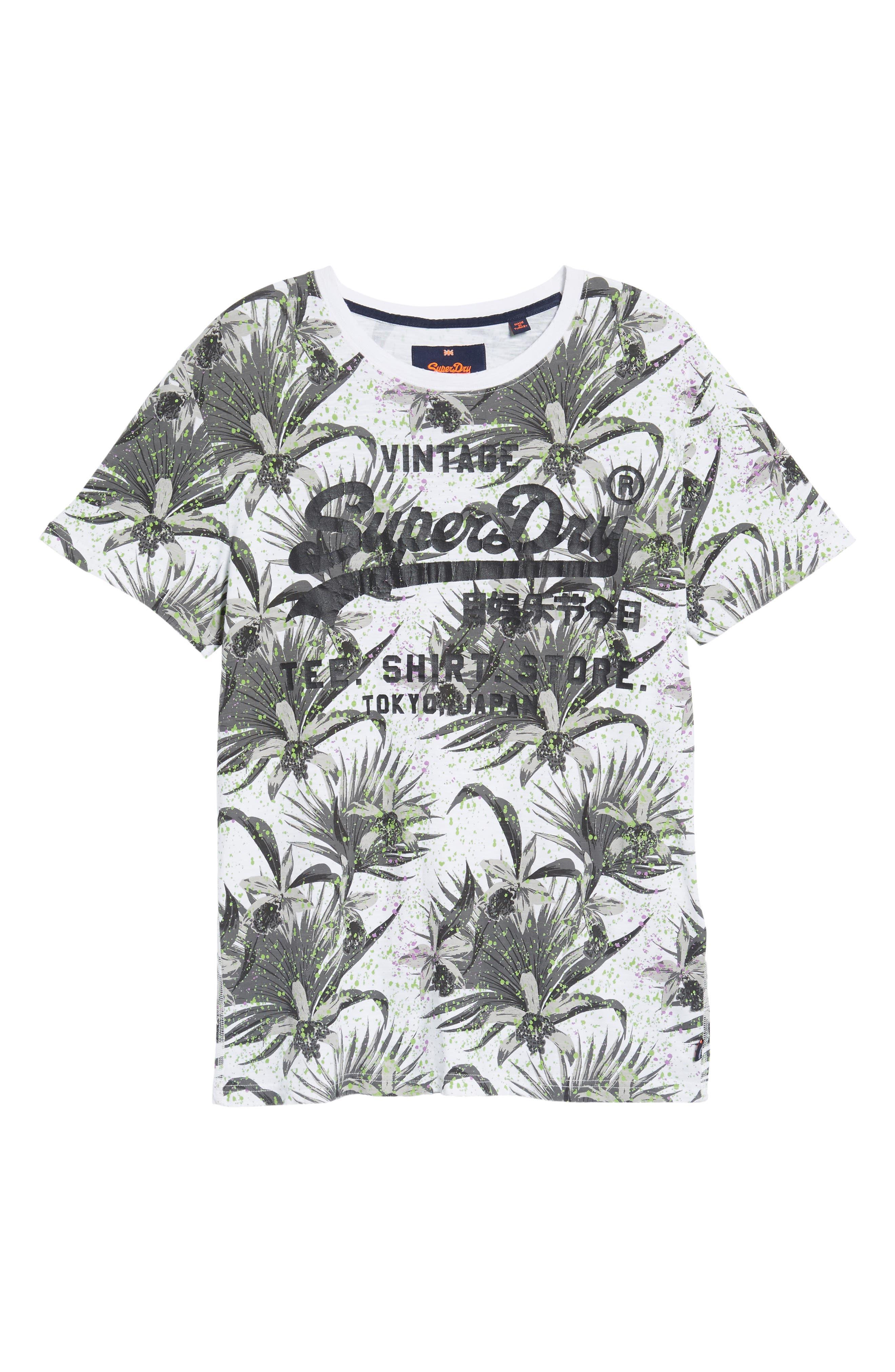 Shirt Shop Aop T-Shirt,                             Alternate thumbnail 6, color,                             Optic