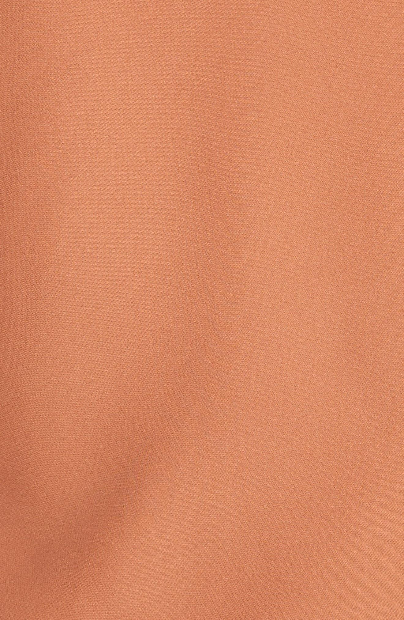 Sonya Silk Camisole,                             Alternate thumbnail 5, color,                             Copper