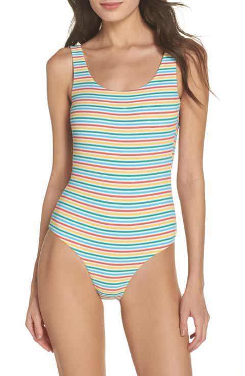 Women S Yellow Swimwear Amp Cover Ups Nordstrom