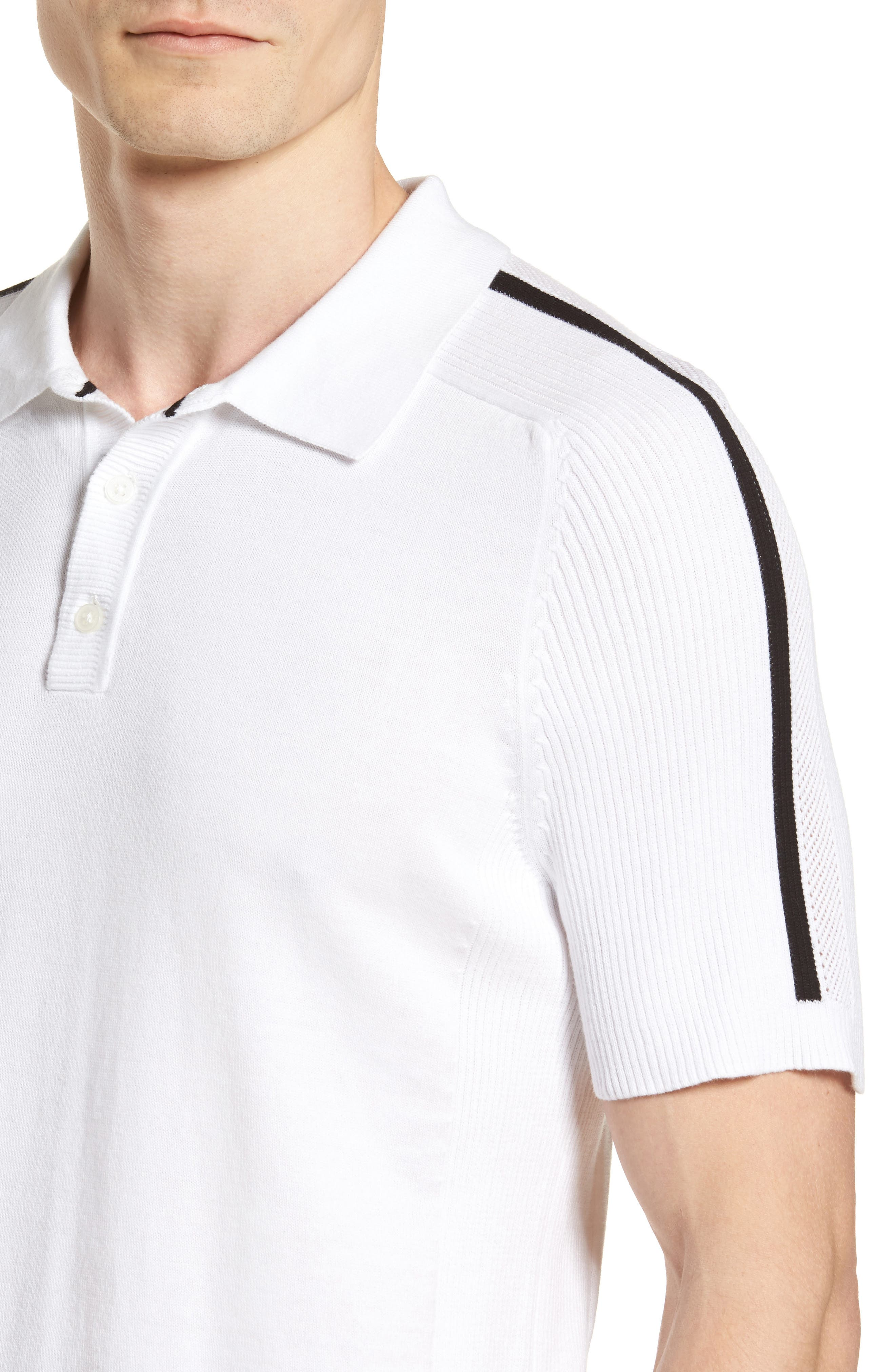 Alternate Image 4  - Vince Camuto Sweater Polo