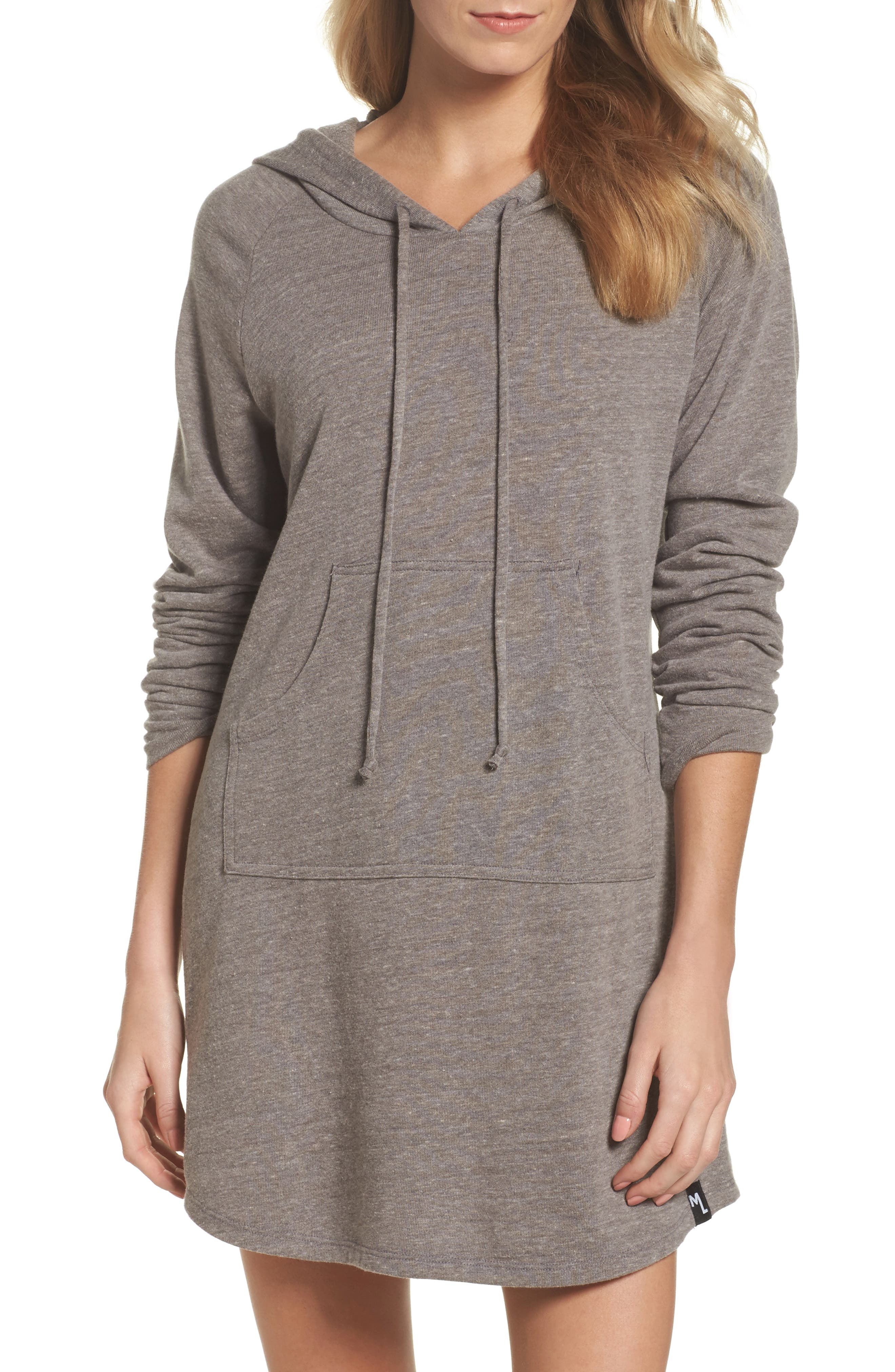 Michael Lauren Erwin Hooded Dress