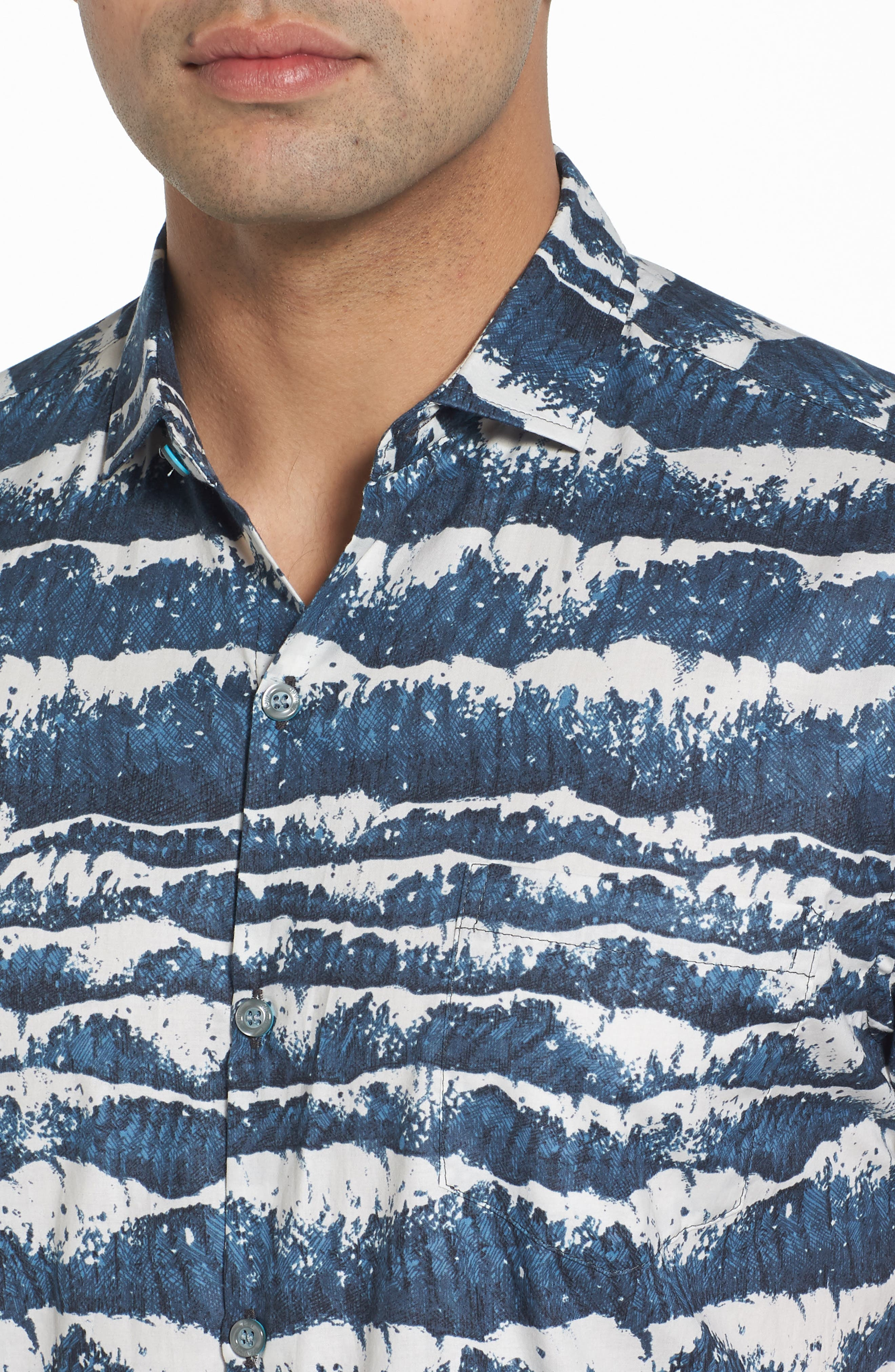 Sport Shirt,                             Alternate thumbnail 4, color,                             Charcoal