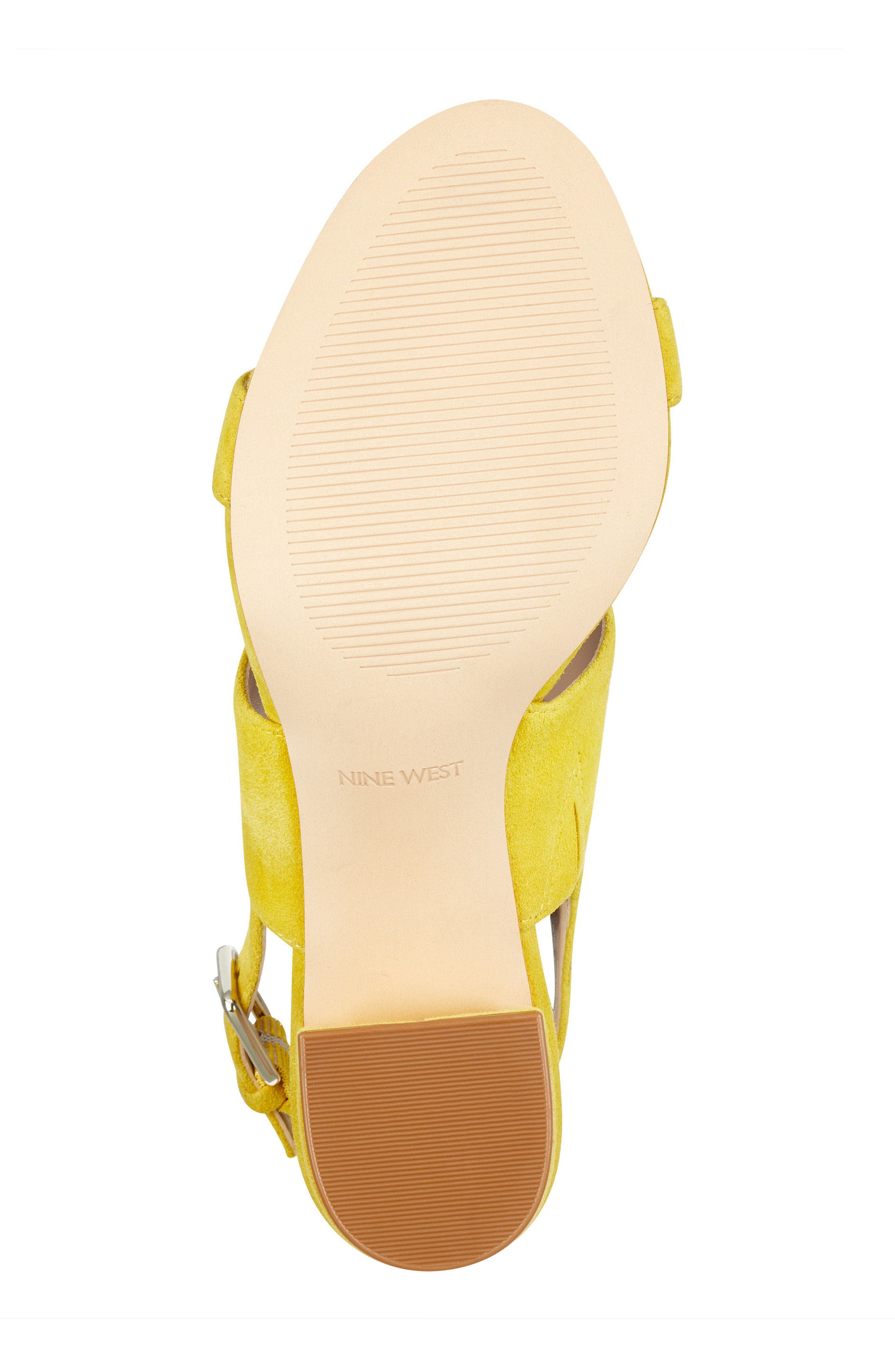 Forli Asymmetrical Sandal,                             Alternate thumbnail 6, color,                             Yellow Suede