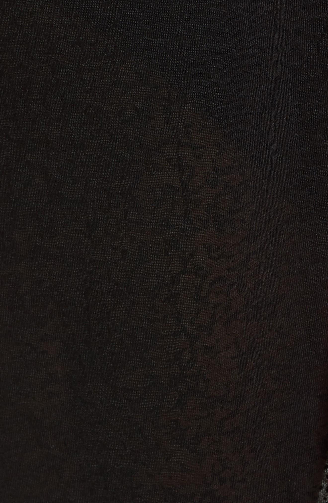 Inca Cover-Up Maxi Sundress,                             Alternate thumbnail 5, color,                             Black