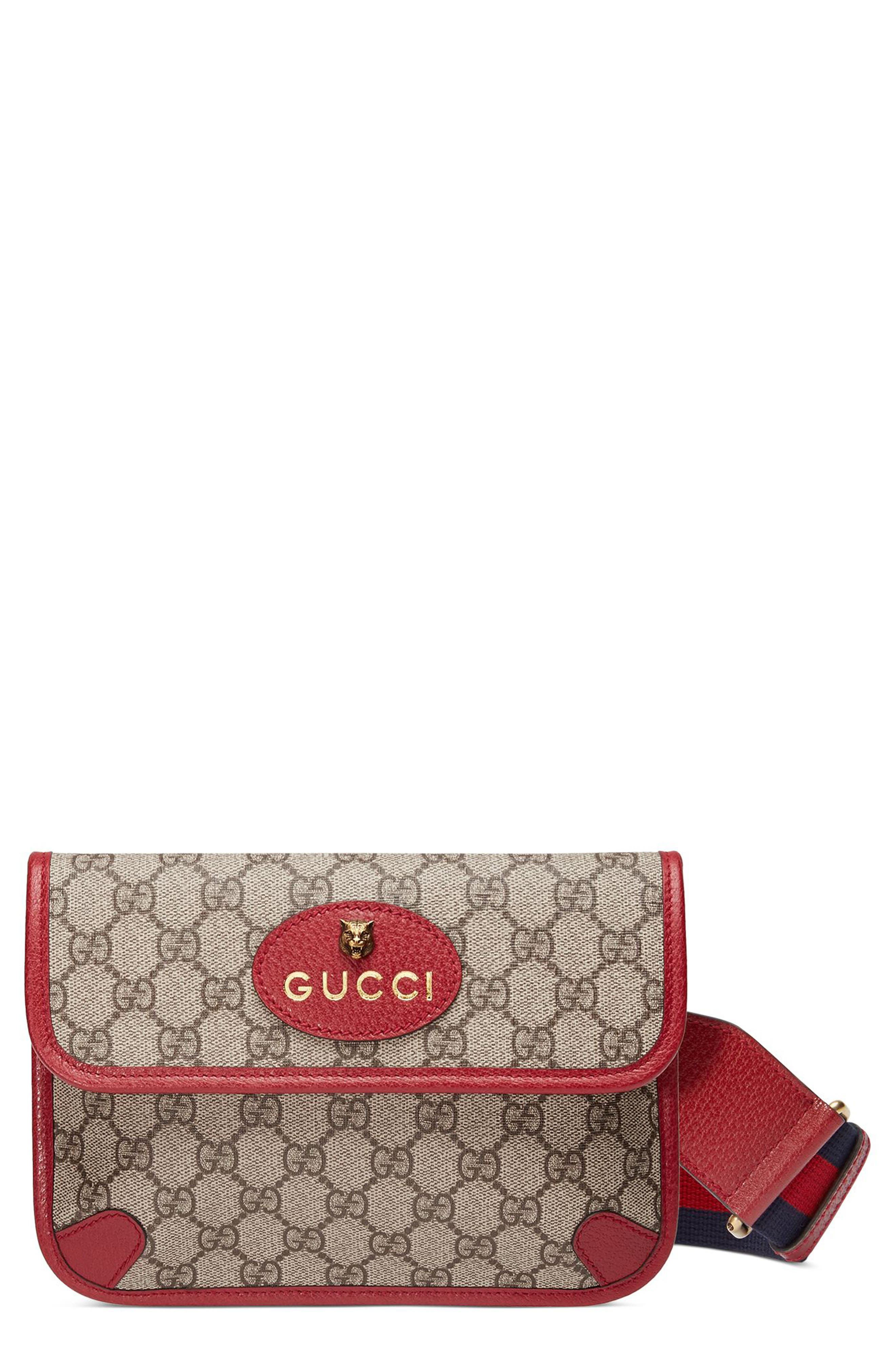 Gucci Totem Four-in-One Leather & Canvas Shoulder Bag